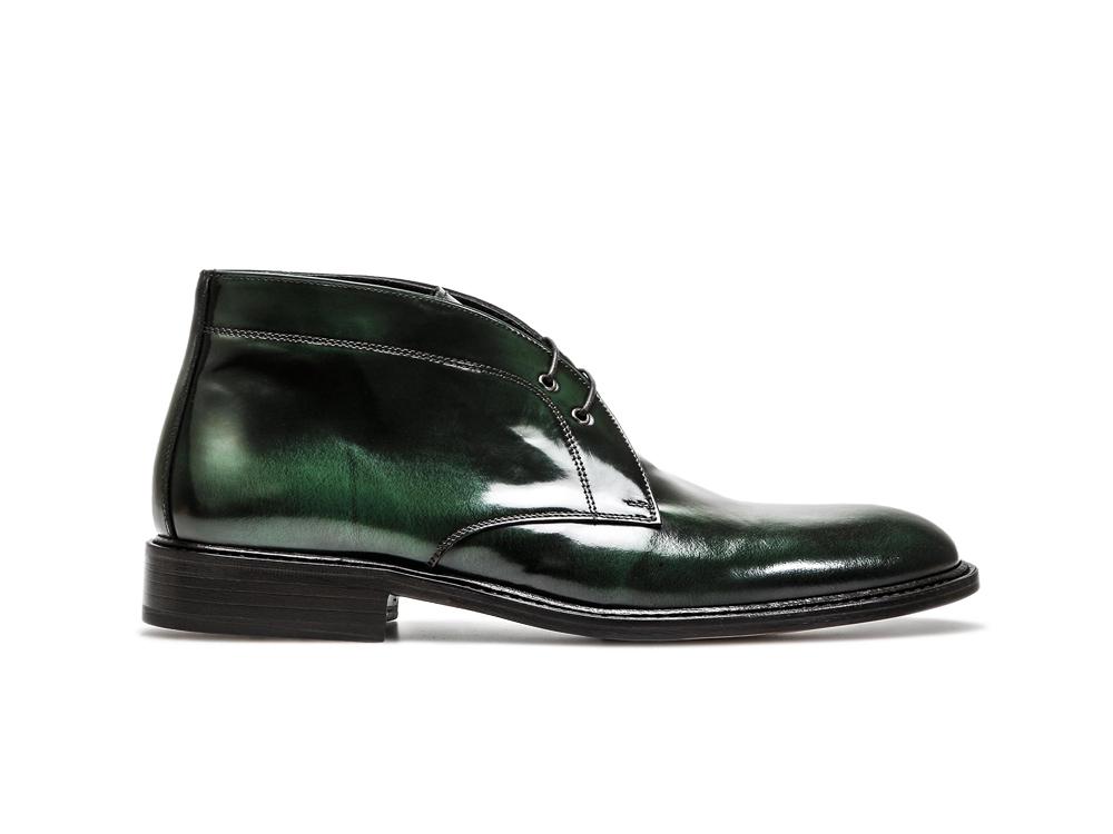En Marco Désert Polo Cuir Vert Du DisDesign Hommes Botte Pour Italian Poli Shoes PkwXN08nO