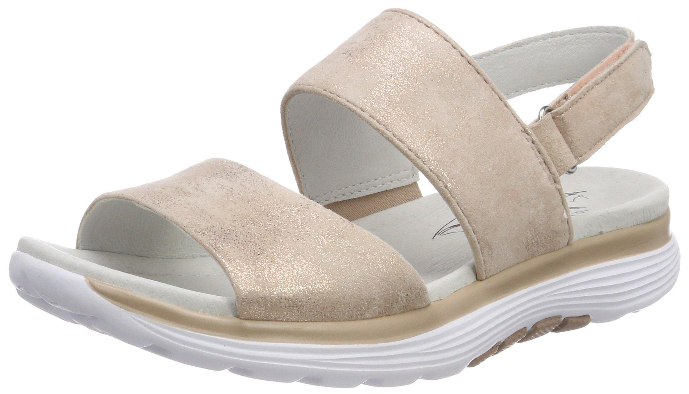 Gabor Cheville Shoes FemmeMulticolorerame42 Bride Eu RollingsoftSandales A54jLR3