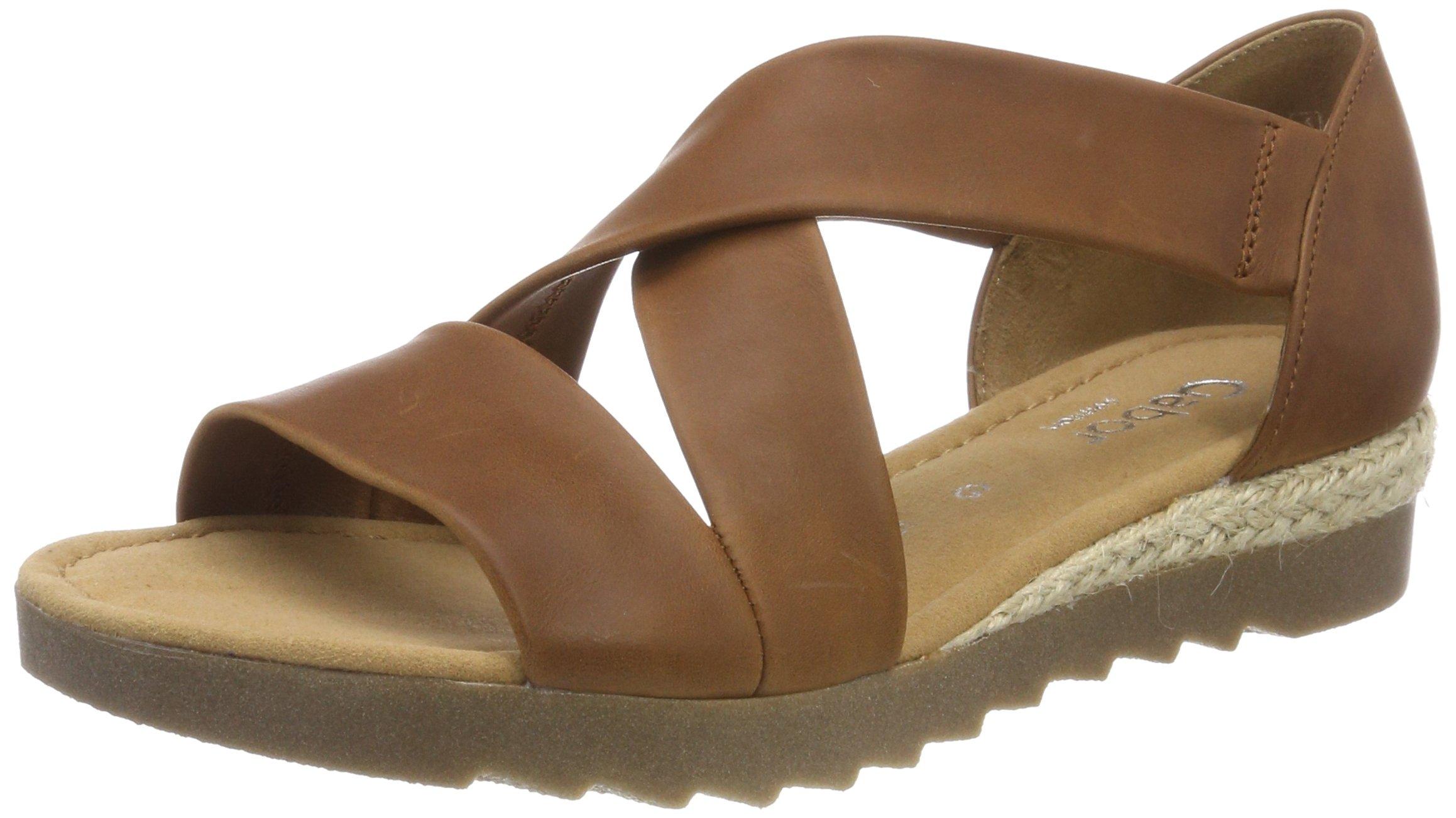 Cheville ambra37 Comfort Gabor 5 FemmeMarronpeanutjute Eu Bride SportSandales Shoes DbEH92YWeI