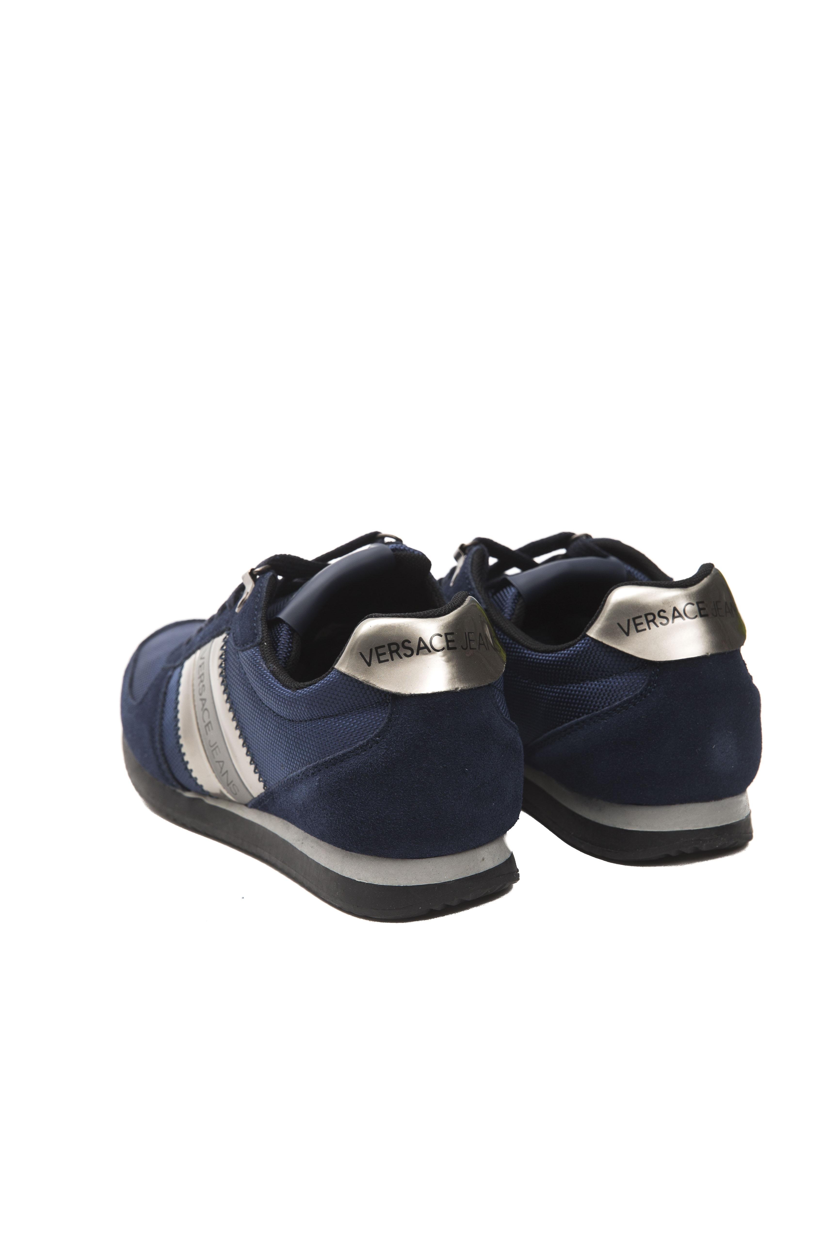 E0yobsa1 Versace Jeans Sneakers Homme Bleu xErBoWQdCe