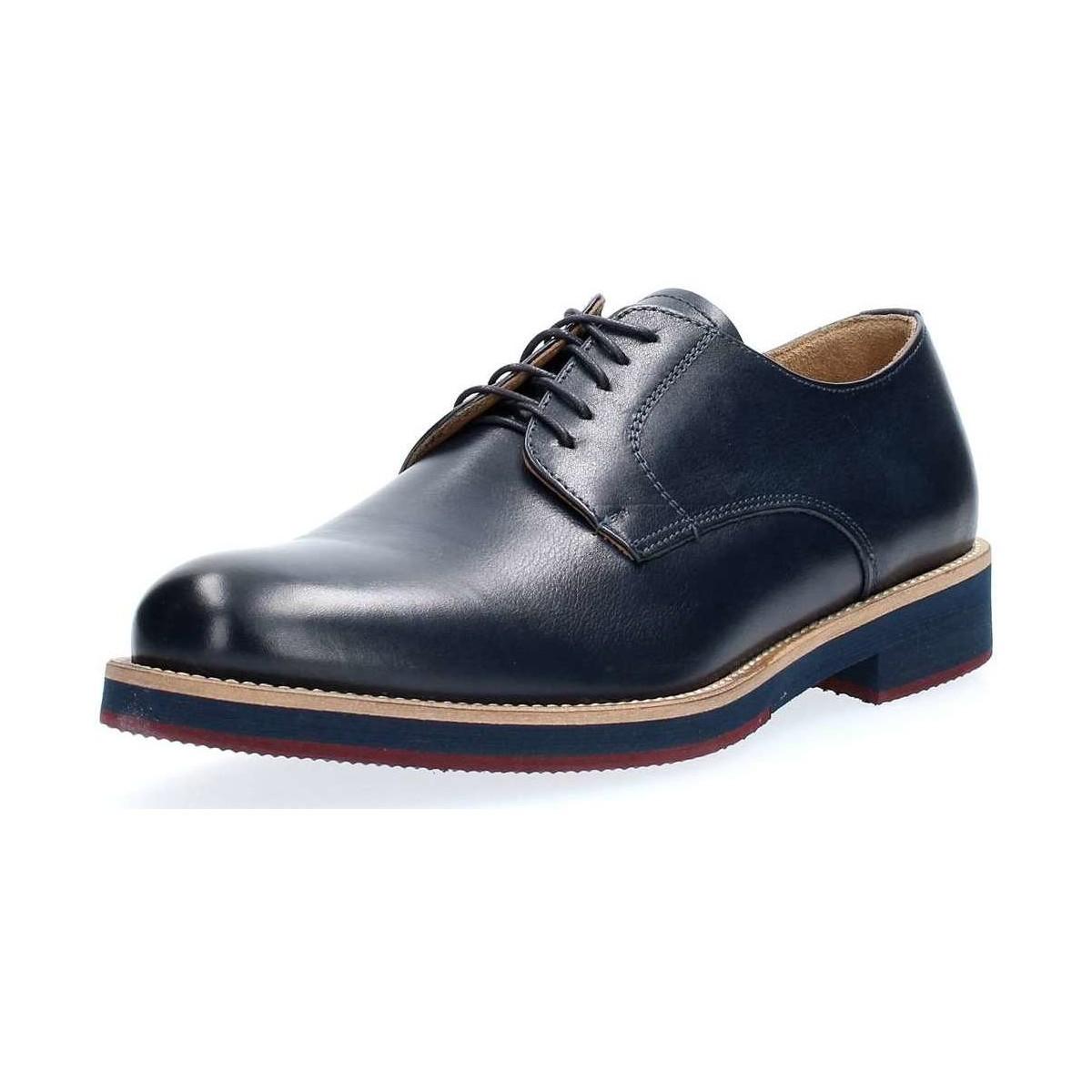 Lacetes Crust 751 Bleu Homme Richelieu Micro Carpet Chaussures À Red thsQdxrC
