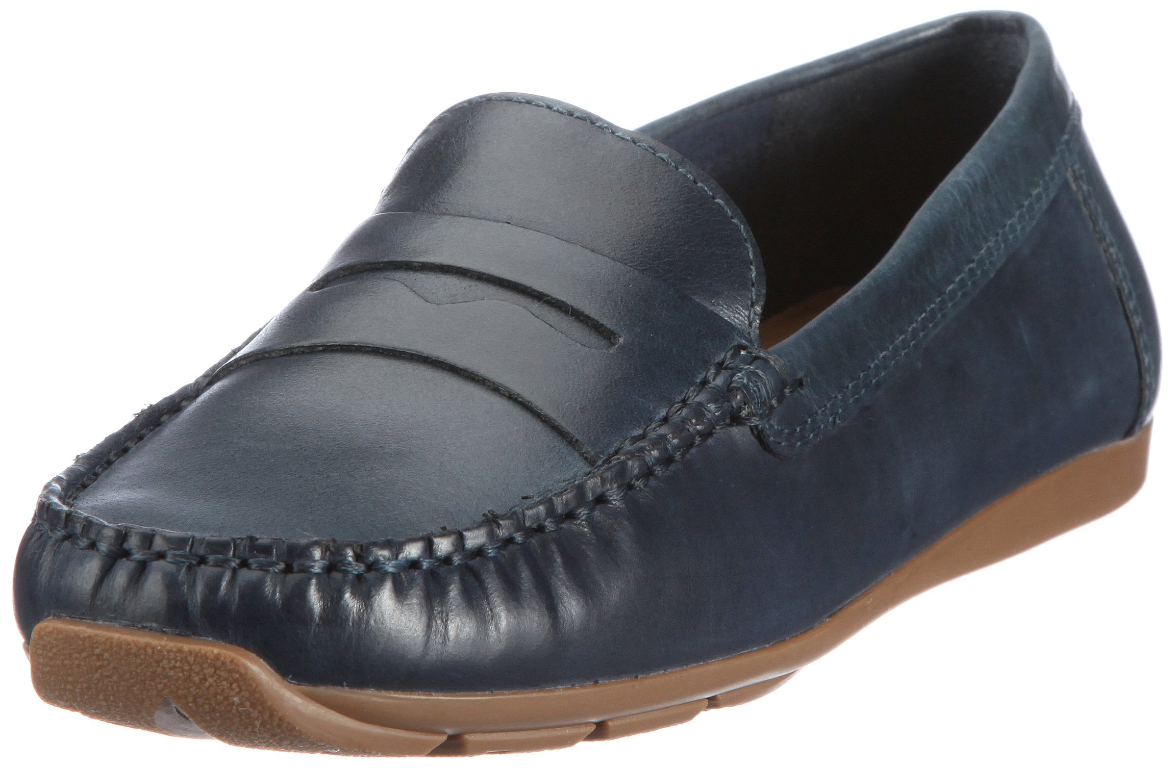tr Clarks 5 Side sw27339 Eu 20350215Mocassins FemmeBleu Hill D9IH2WE
