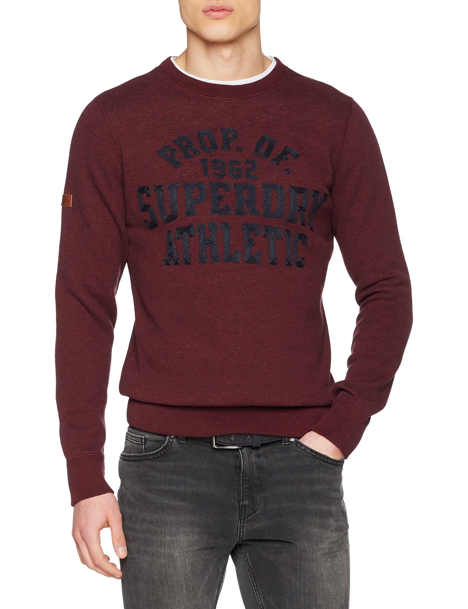 Violetdark Homme Sweat GritTailleXxl SuperdryM20044pp shirt Berry VLzqUjSMpG