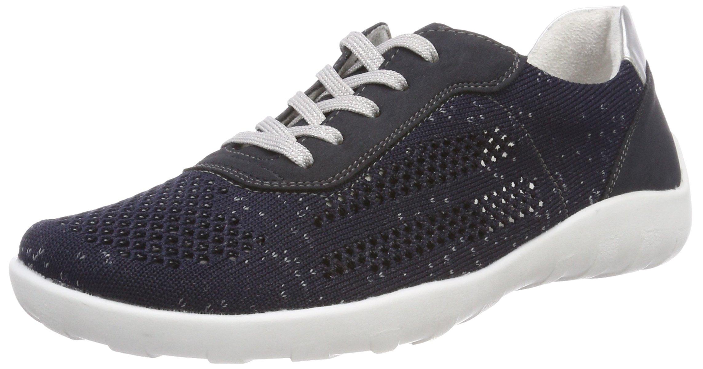 R3503Sneakers Eu Basses silver39 Remonte Pazifik FemmeBleu CBWxedQro