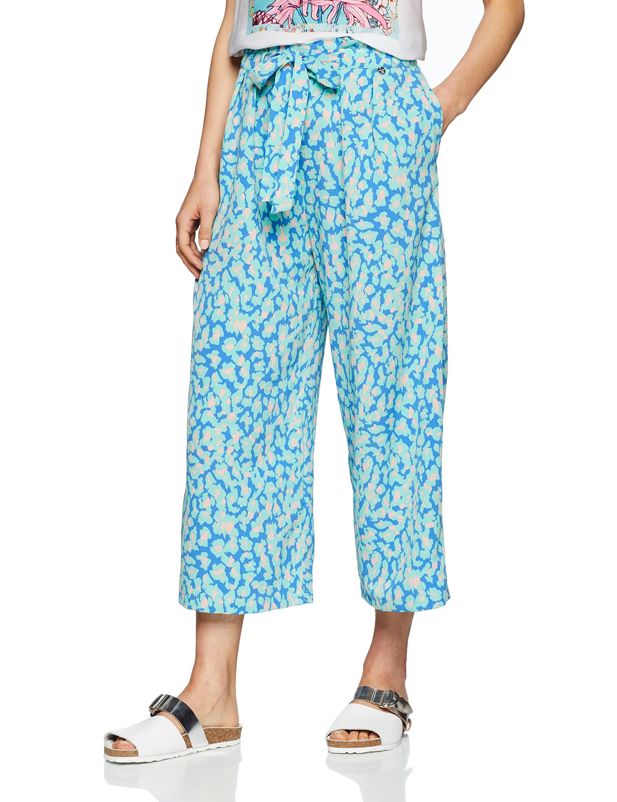 Leo Rich amp;royal Femme Blue 76740 PantalonBleupastel Pant Print qSUMVpz