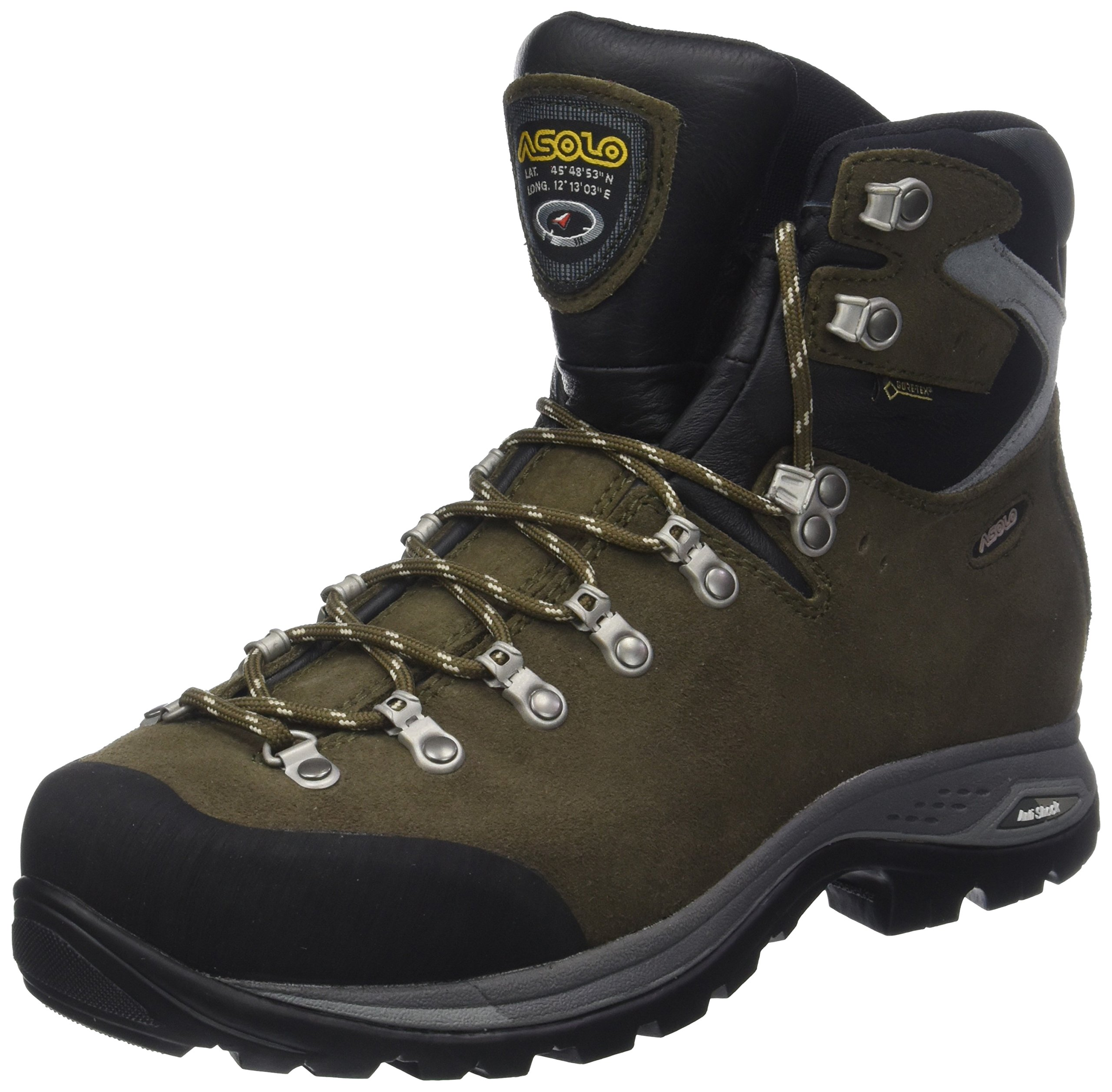 Hautes De Major AsoloA23094 1 Homme A03443 Chaussures Eu Randonnée 3 Marronarnum Brown 54L3jAR