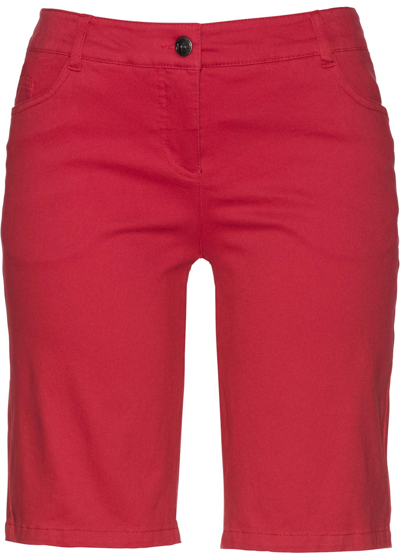 Bonprix CollectionBermuda Bpc Extensible Femme Pour Rouge UzpMVqS