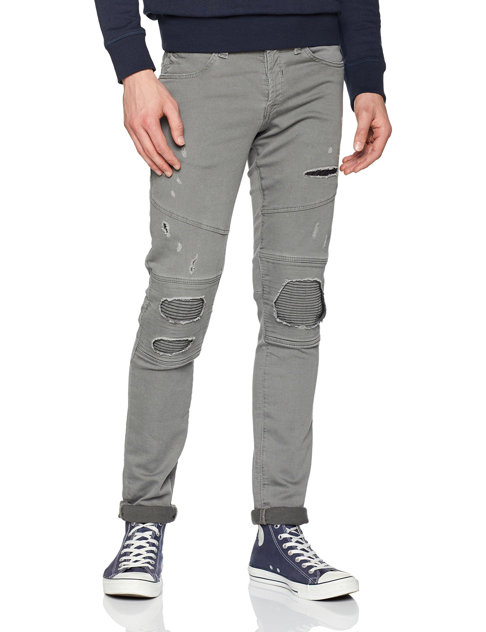 Dark Grey Jjiglenn Noos Jones Jjjaxx Jackamp; PantalonGristaille Biker Fabricant30Homme Jj 0wnP8OXk