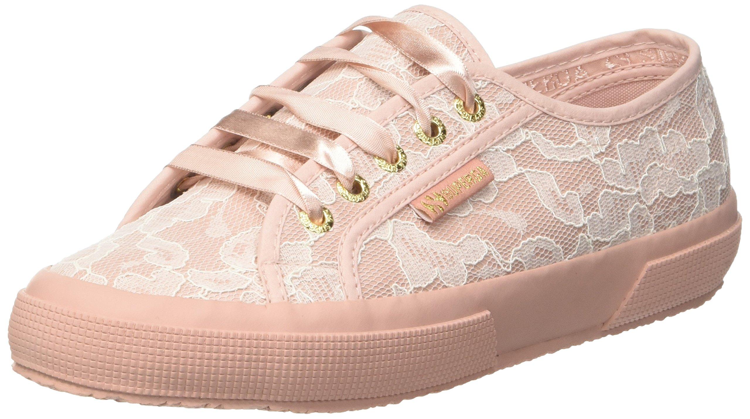 synlealacewBaskets Superga Rose 91738 2750 Eu white Lace FemmeMulticolorepink QrdoxECBeW