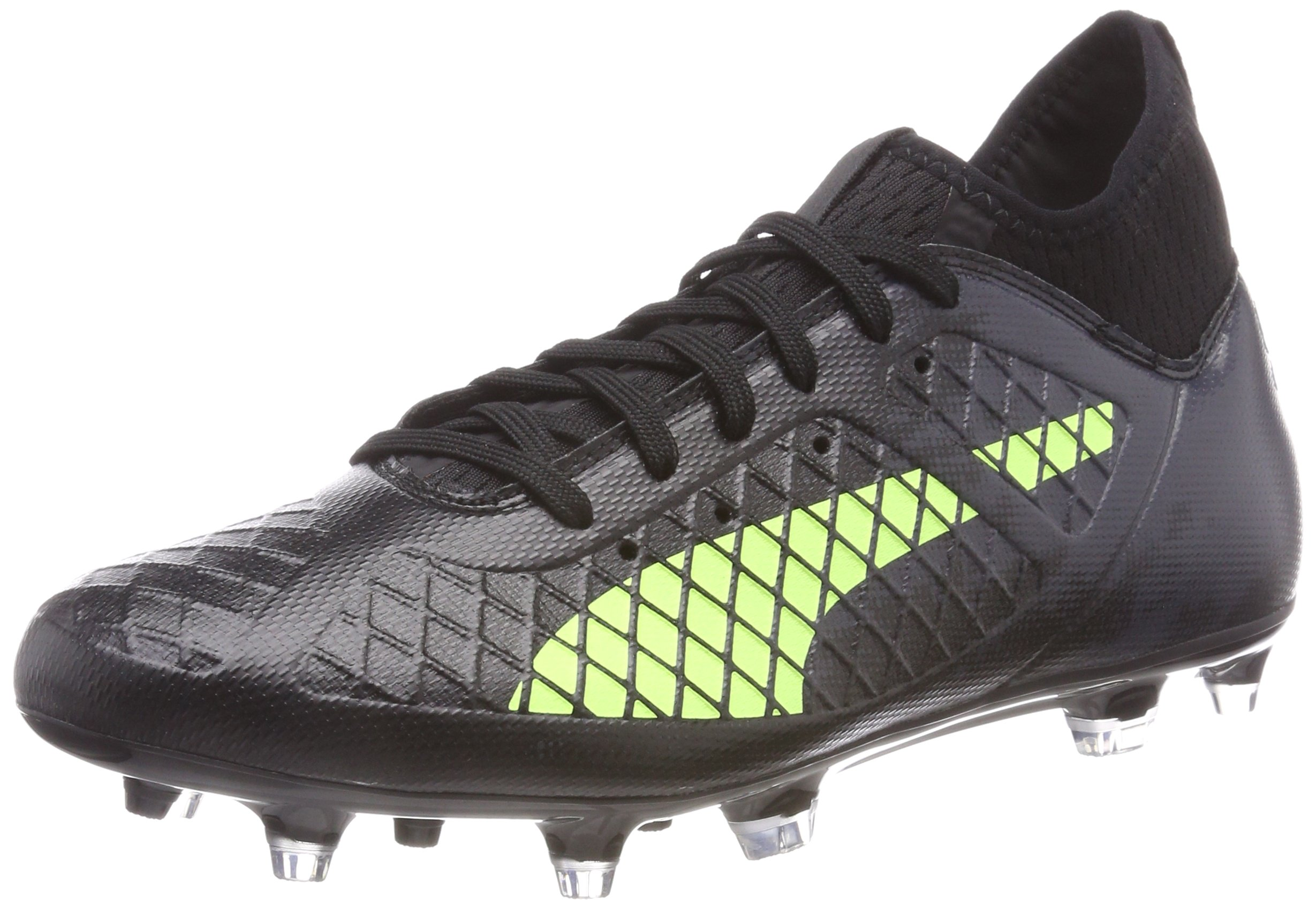 Eu 18 Yellow 3 De agChaussures Black Puma HommeNoir Future fizzy Fg asphalt46 Football OnP80wk