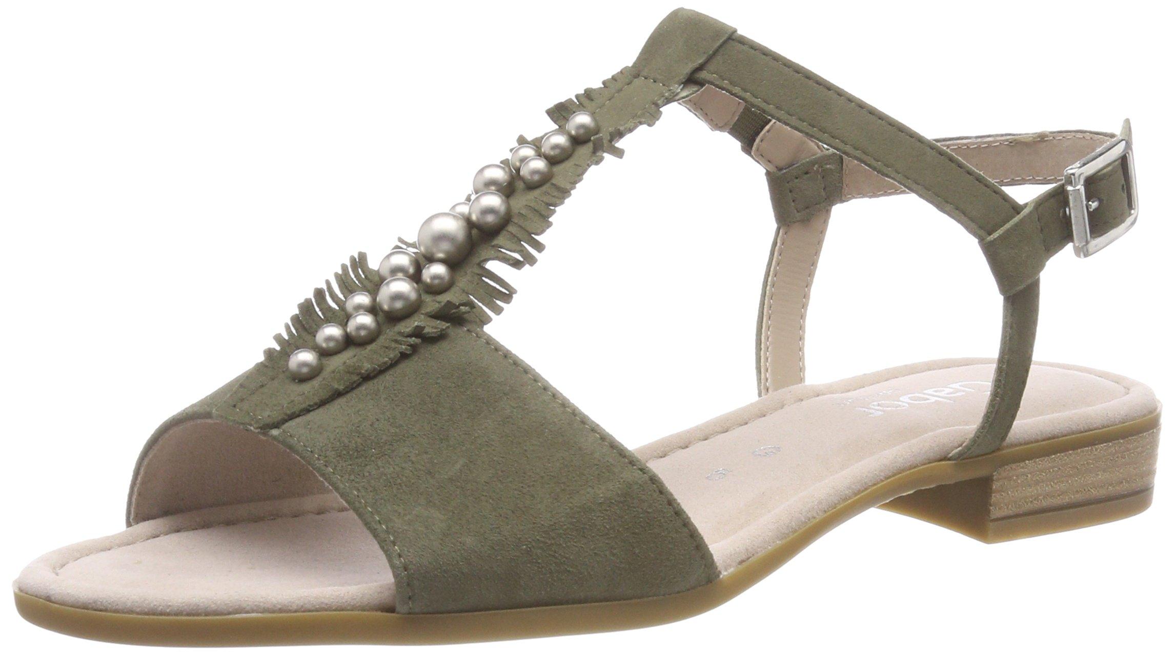 SportSandales Gabor Shoes Eu Comfort Cheville FemmeVertoliv39 Bride tChrdsQ