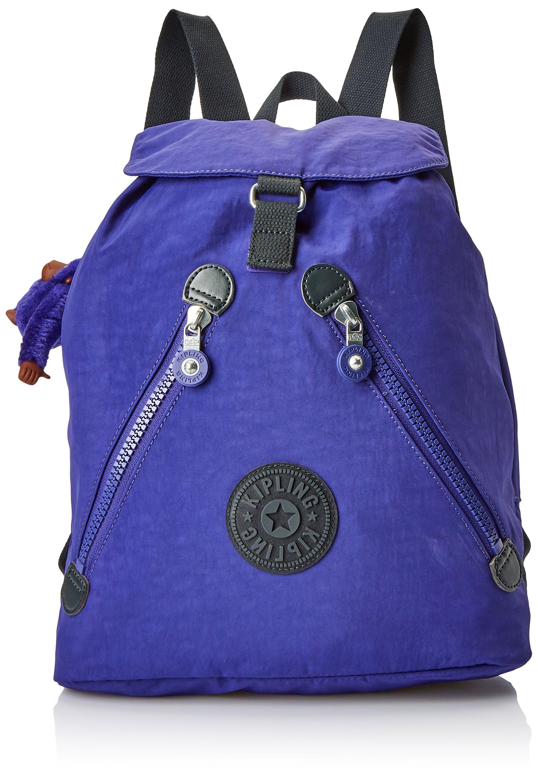 Kipling À L H X Dos FemmeVioletsummer Purple15x24x45 Cmw FundamentalSacs yf76Ygb