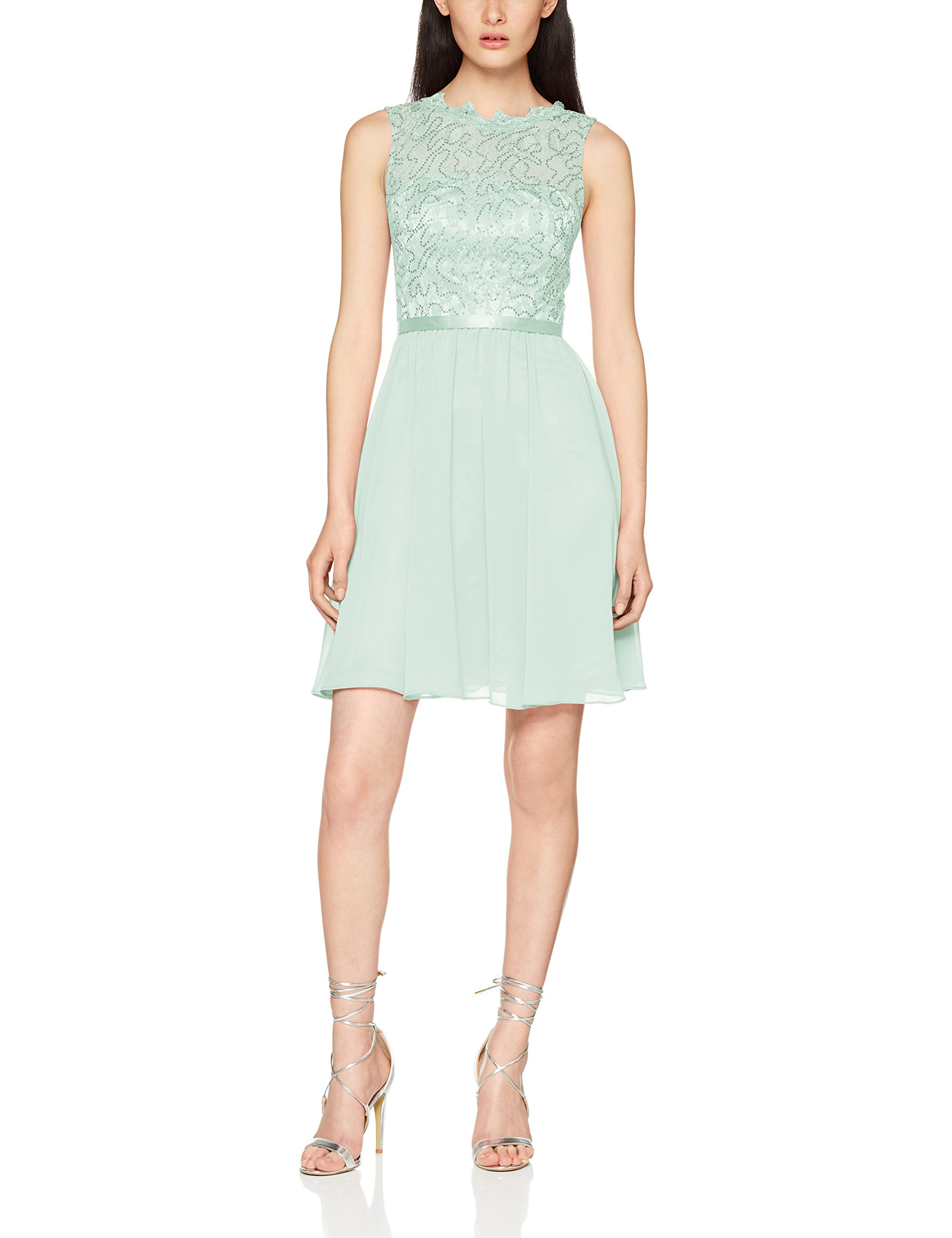 Laona Dress RobeGrünchalk 9048Uk Cocktail Green Femme 6 SzVMGLpqU