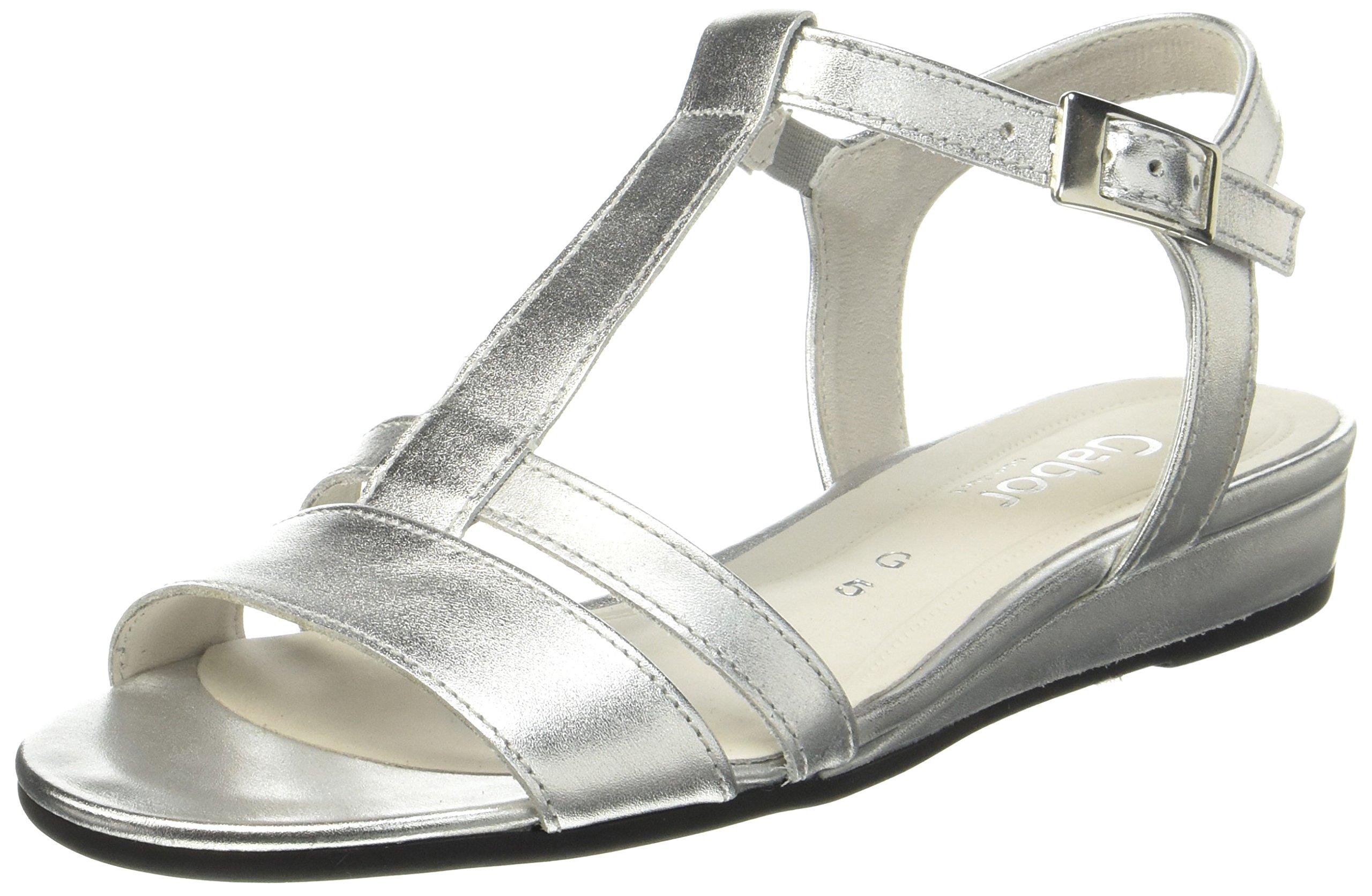 Eu Bride Gabor SportSandales Cheville FemmeMulticoloresilber39 Shoes Comfort wO0n8Pk