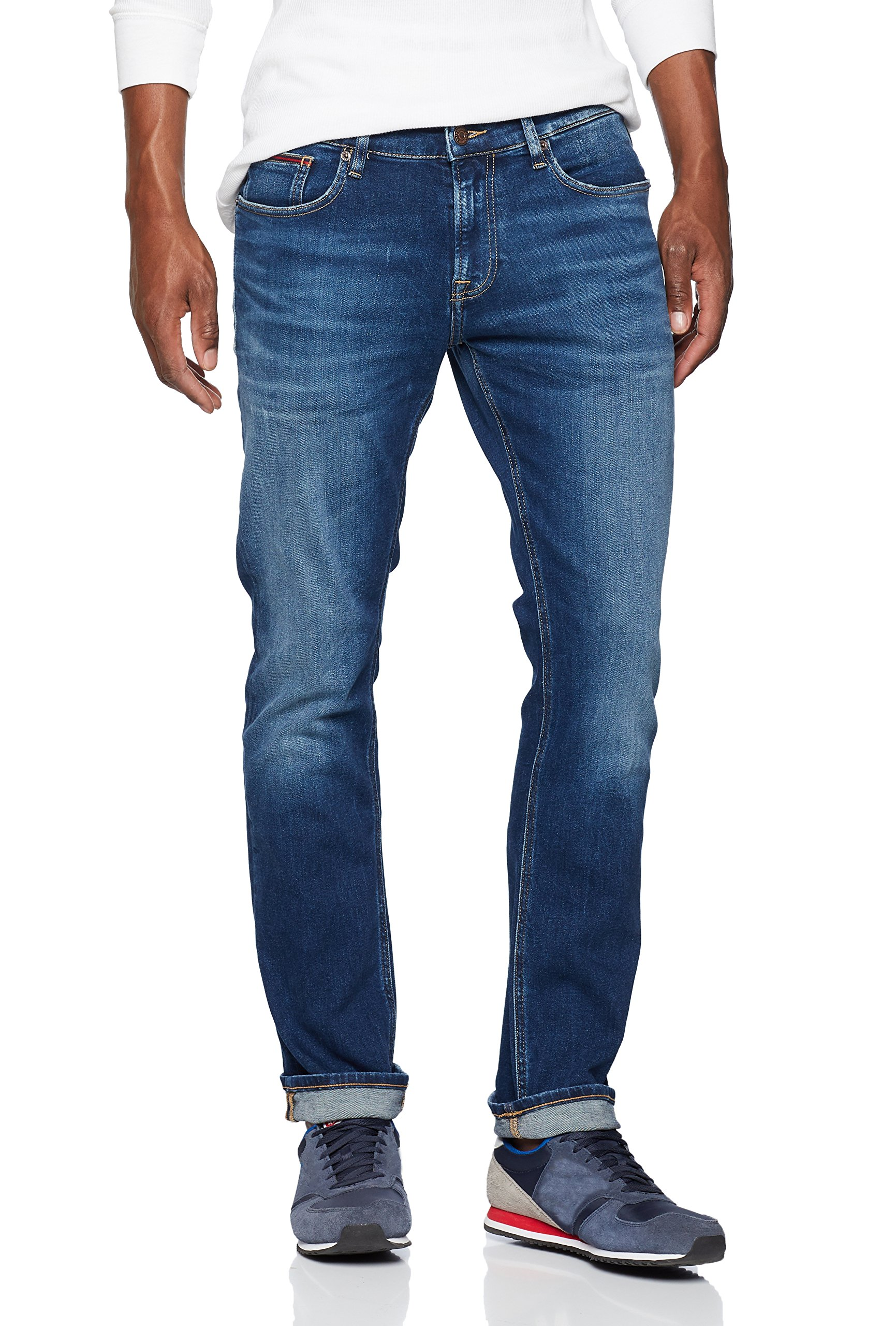l34 Stretch Homme Mid Bleuwilson 911W30 Tommy Scanton Slim Jeans Blue KJ3cTlF1u5