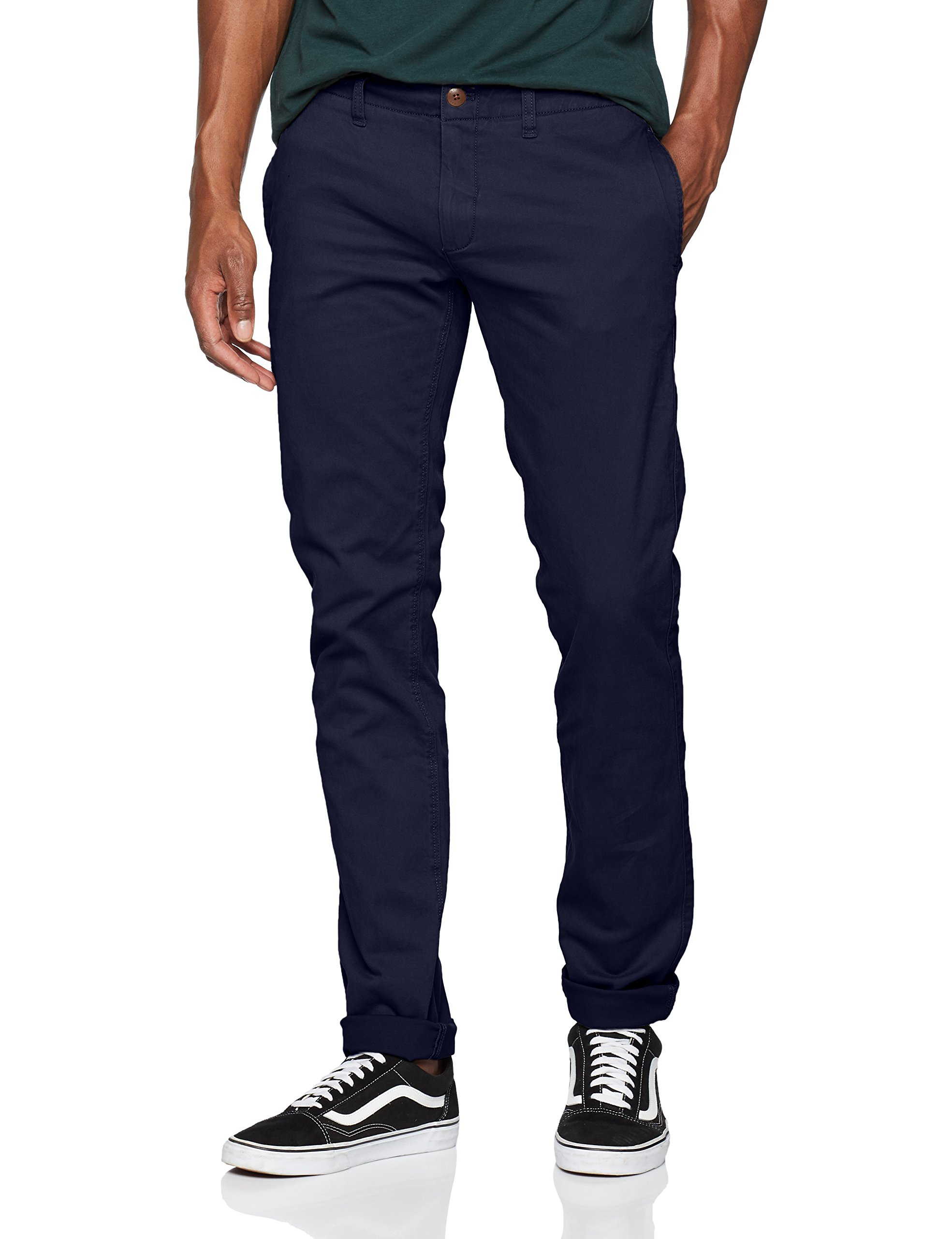 Essential Slim Chino Tommy 002W36 Iris Pantalon Bleublack Homme Jeans l34 eDY9W2EHIb