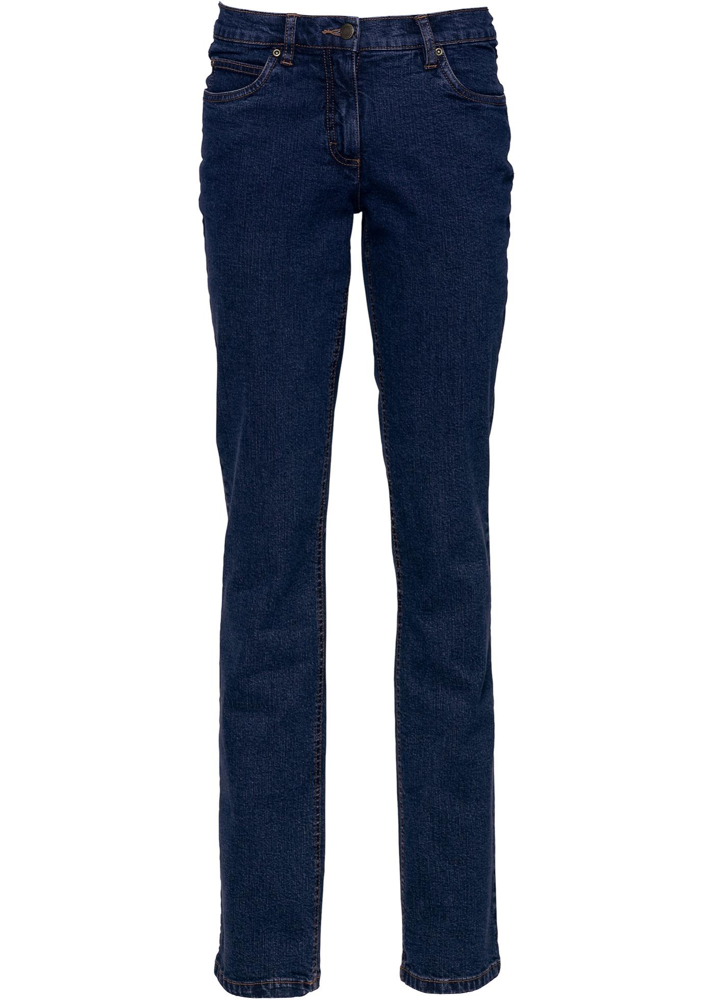 BonprixJean Straight Jeanswear Bleu Pour Femme Extensible John Baner j4RA5L
