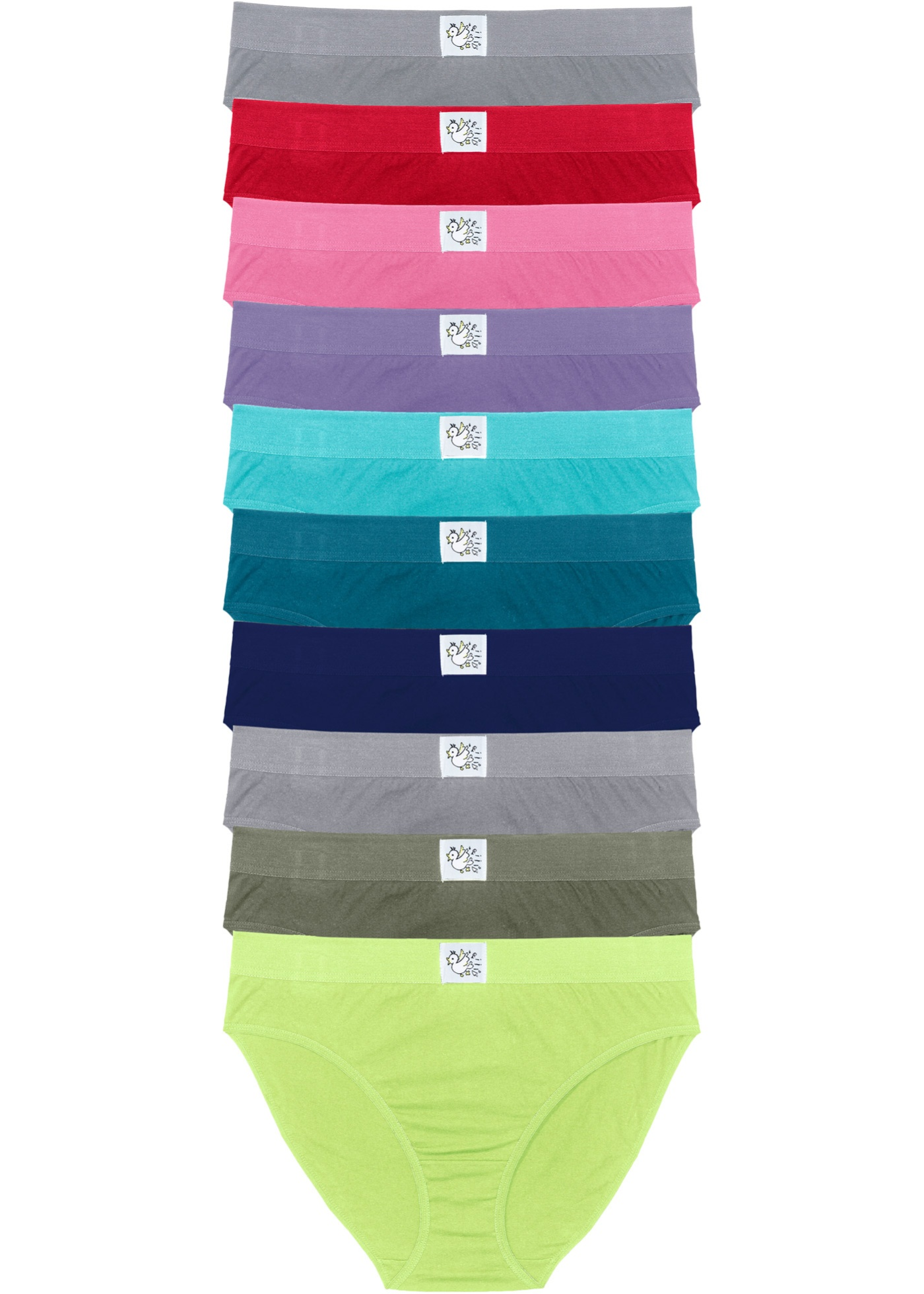 Bpc CollectionLot Vert Femme Pour Slips Bonprix 10 De EY2IDHW9