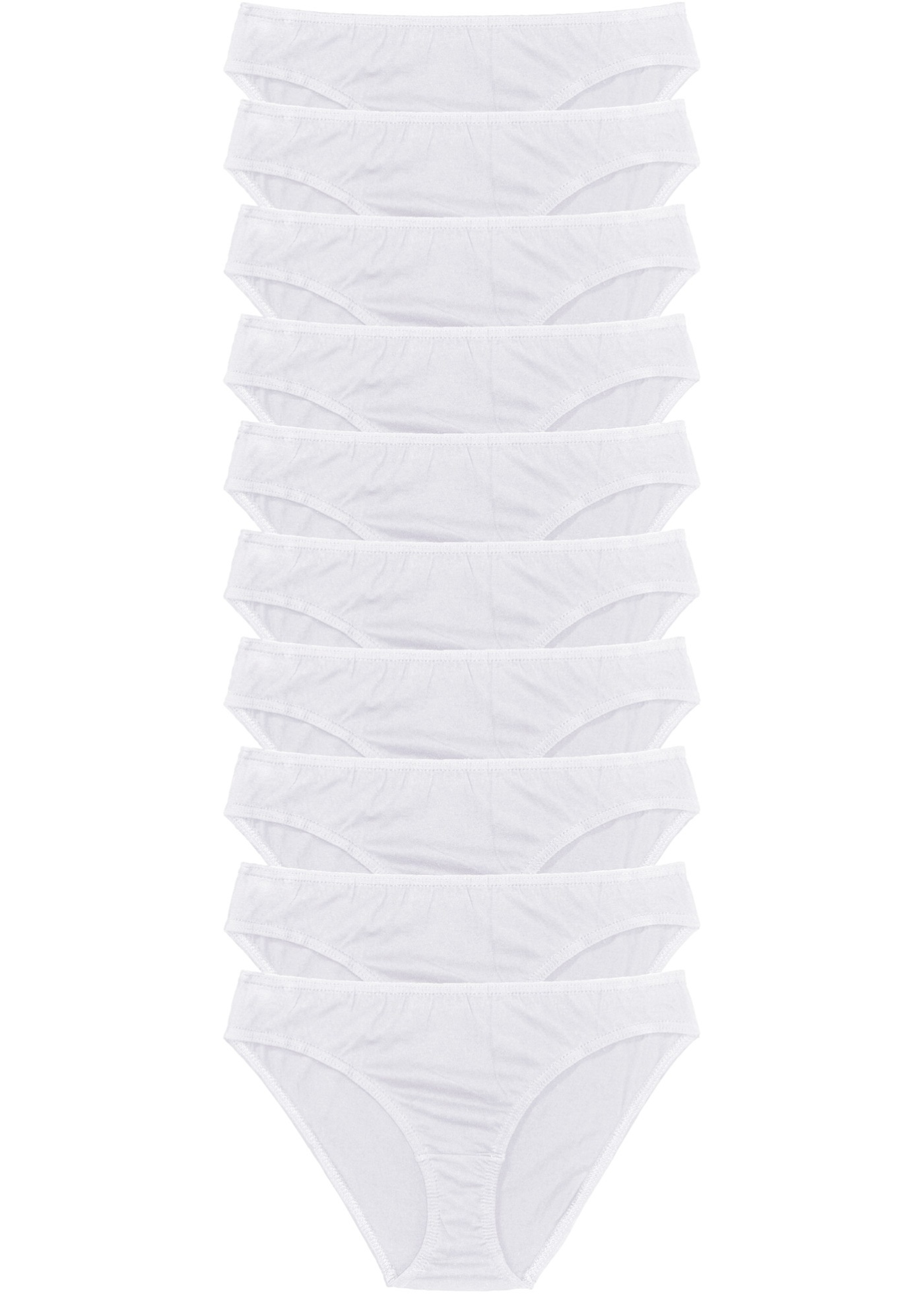 10 De Slips Pour Femme Bonprix Blanc Bpc CollectionLot trsChQd