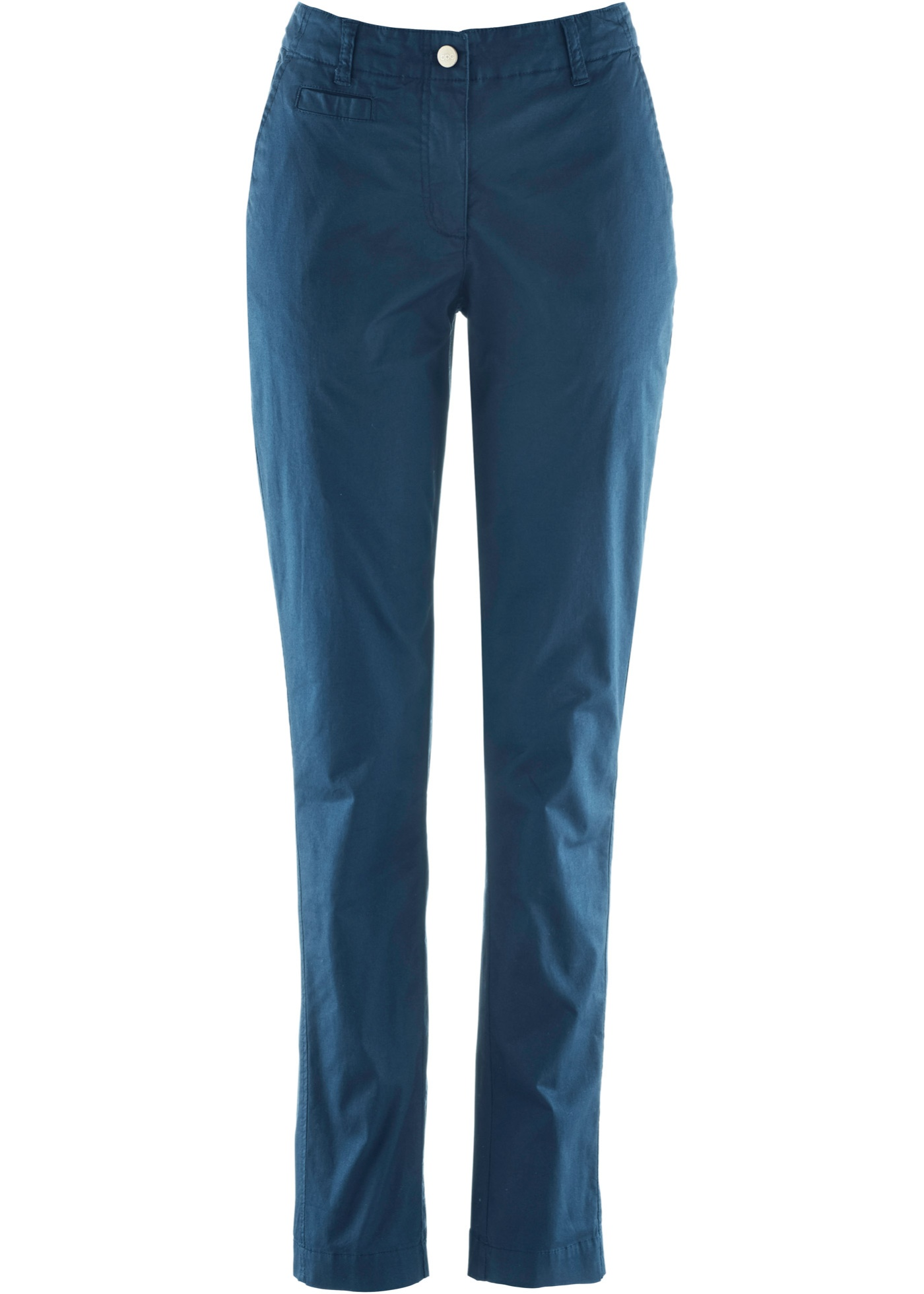 Pour CollectionPantalon Bpc Bonprix Réglable Chino Bleu Femme Taille Avec ZXTuPiOk