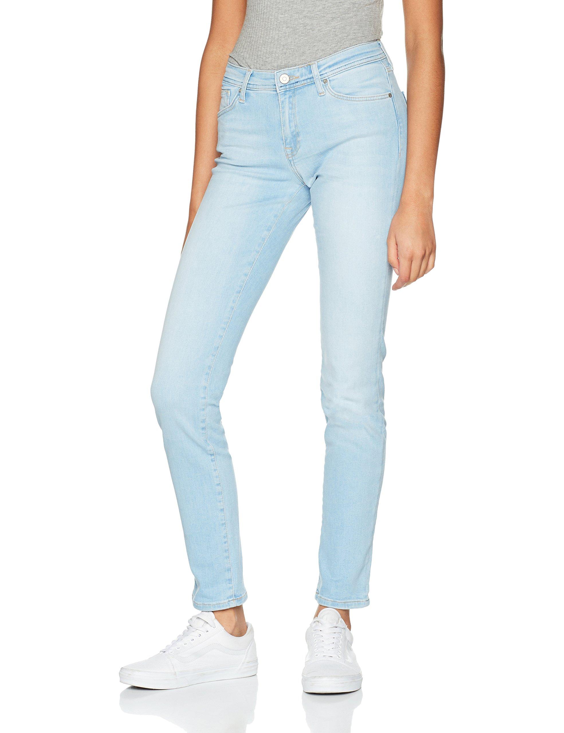 FemmeBleulight Jean Cross Anya Blue Slim X 32l 12433w vn0OPNywm8