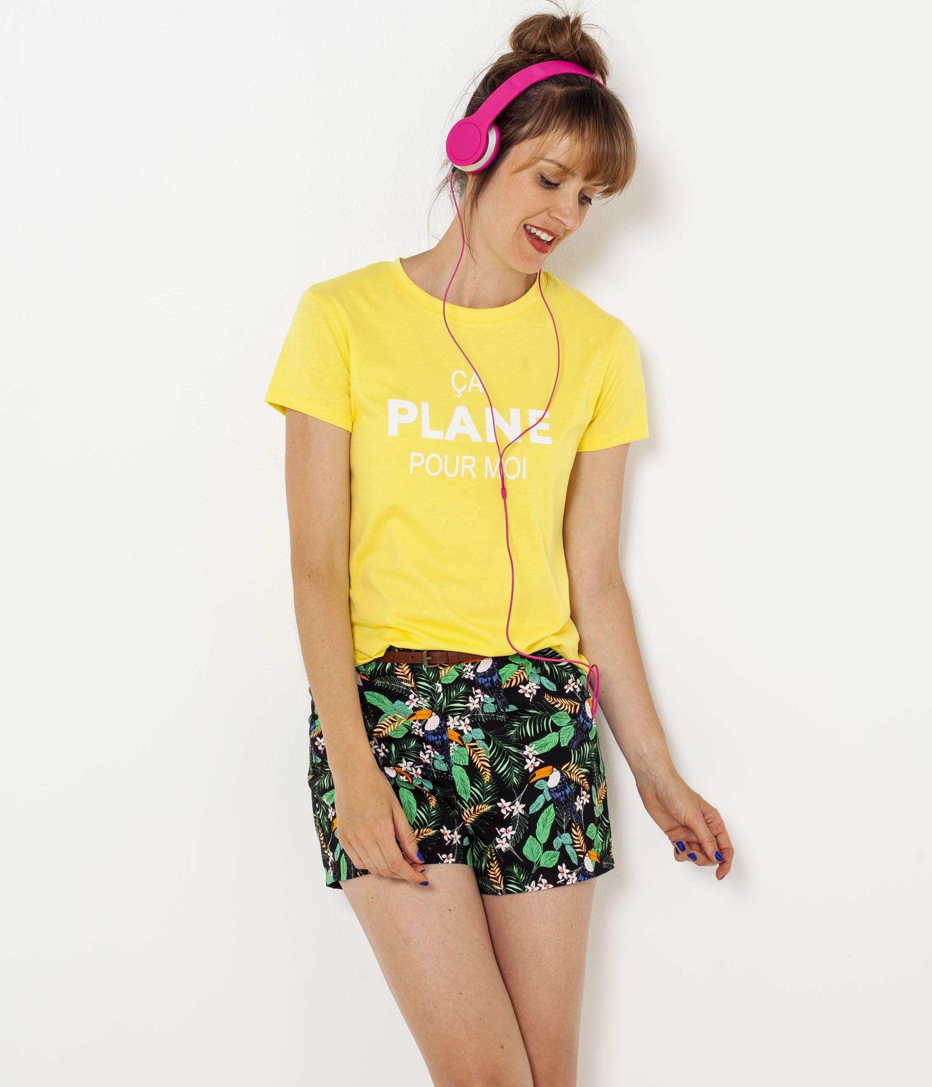 T Femme Camaïeu shirt X Universal UzpSjLqGMV
