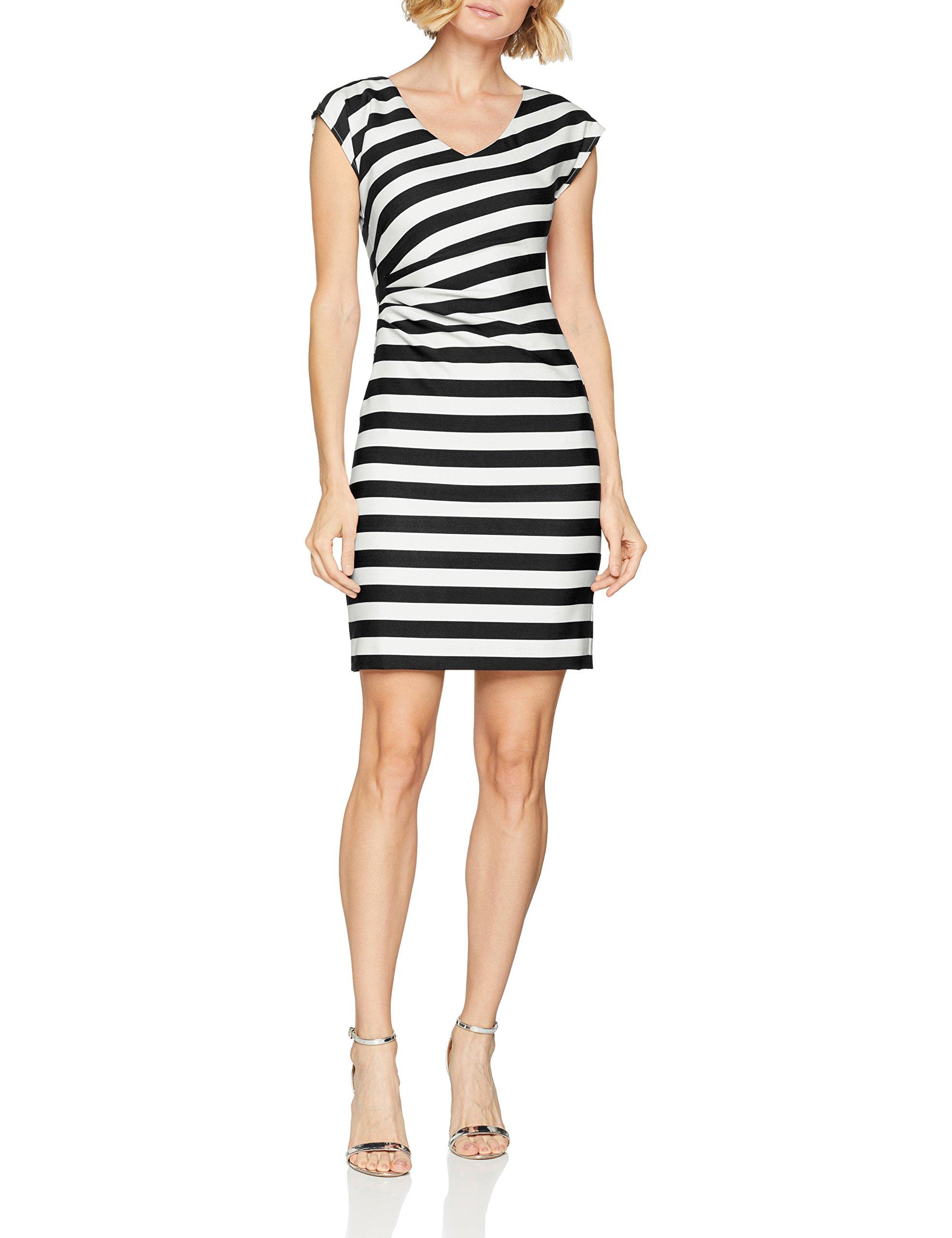 Femme 59g040 Comma RobeMulticolore Regular 4462 8t Stripe 82 806 b6v7ygYf