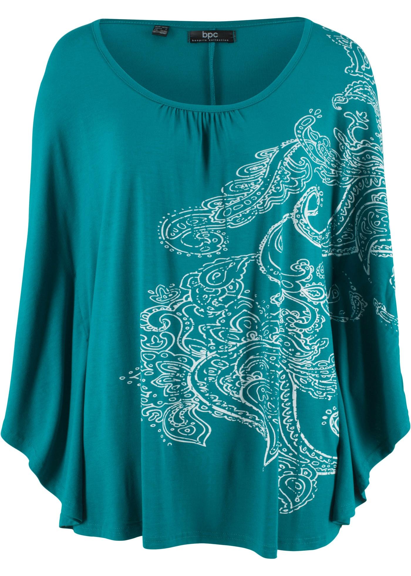 CollectionT Bonprix Pour Bpc Chauve Bleu shirt Manches Femme souris nOk0wX8P