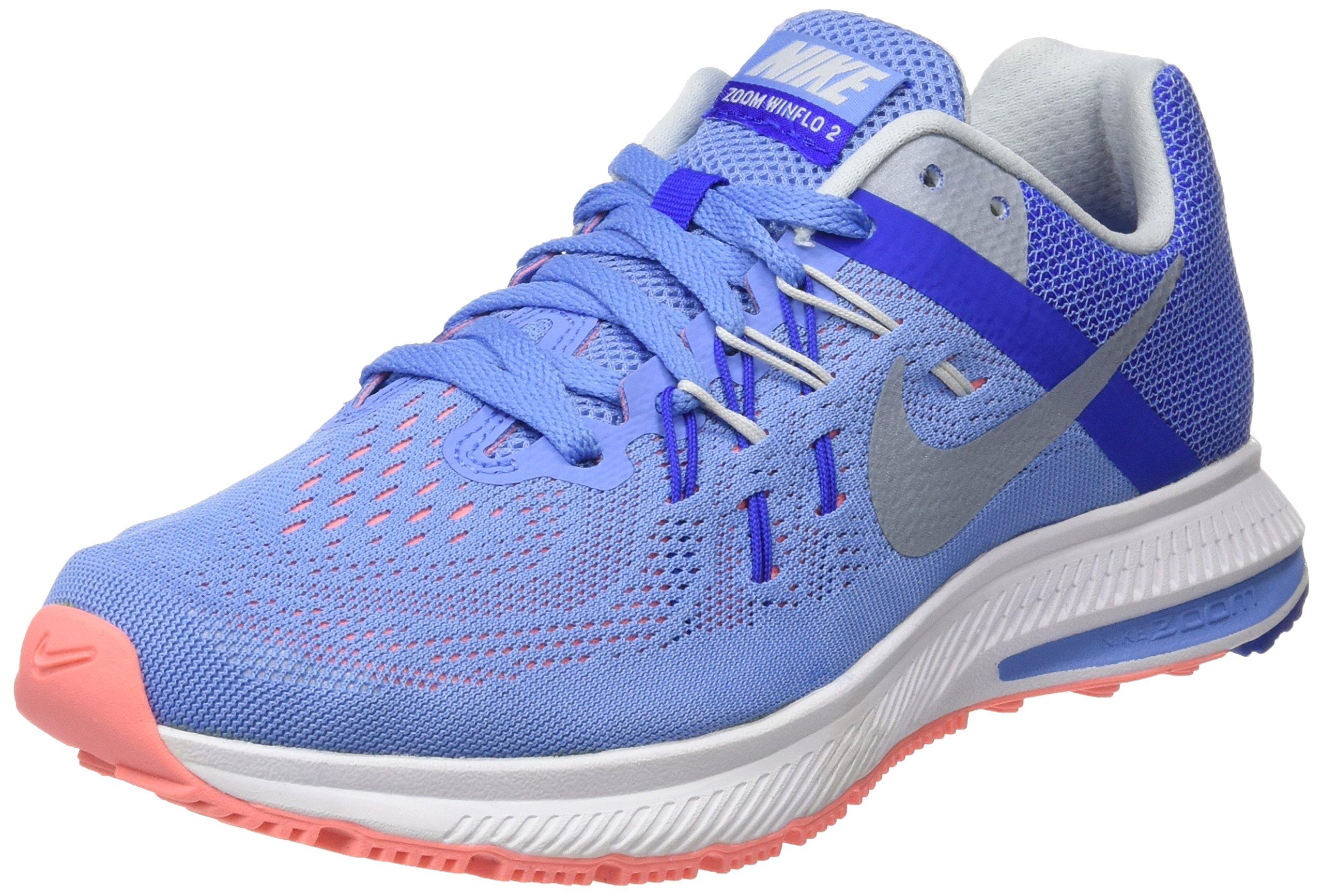 Eu Pltnm FemmeAzulchlk Zoom Rcr 2Baskets Mtlc Wmns Bl Basses Atmc39 Nike Winflo NknO80wXP