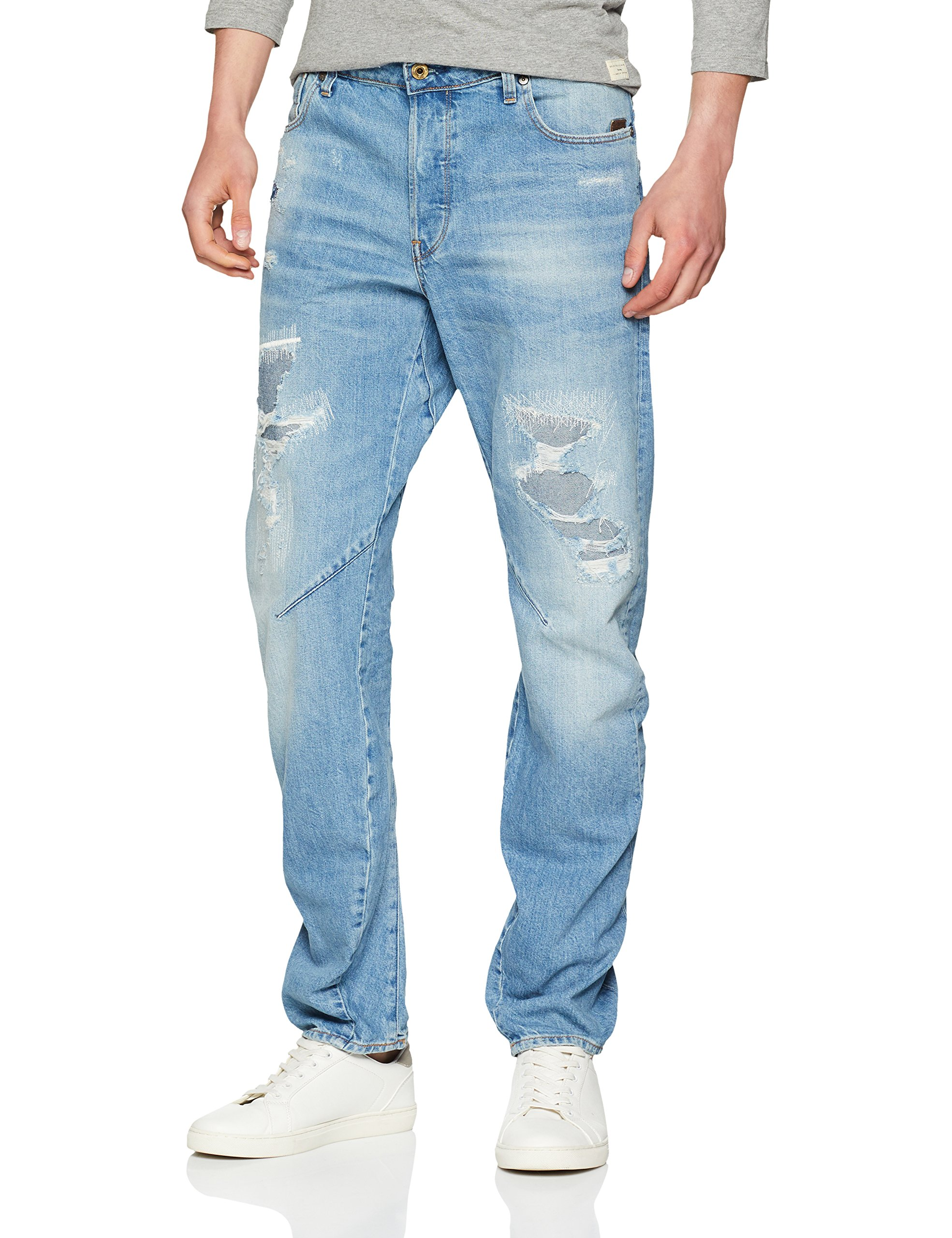 Aged Raw Relaxed Heavy 9299 940331w32l Homme Arc Fit star JeansBleumedium G 3d Restored Tapered R5j4AL