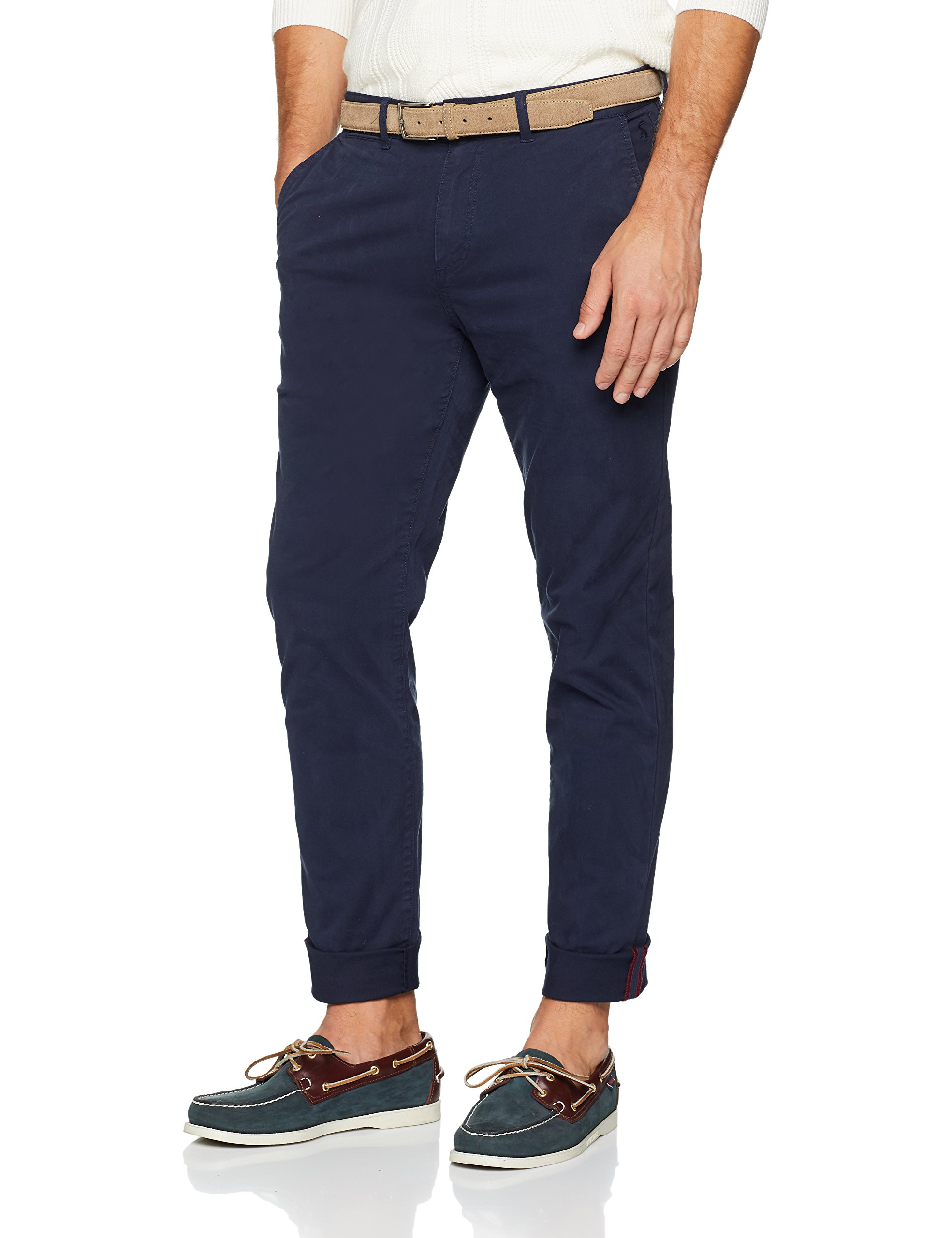 34Homme Joules Laundered French l34taille Chino Fabricant32 NavyW32 PantalonBleufrnavy EI9DH2