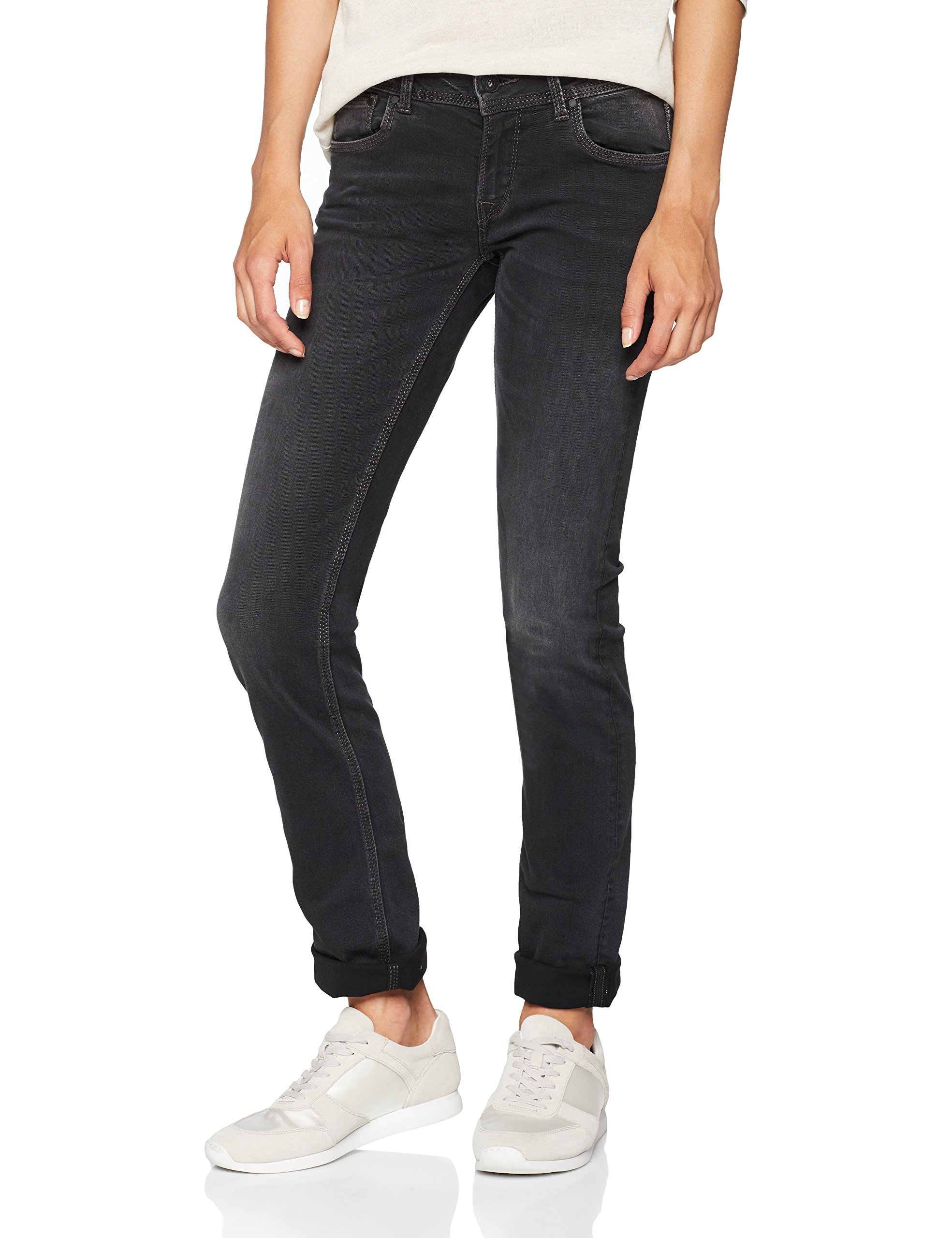 Wb9Taille Jean Pepe Fabricant30 Droit Noirdenim Femme Saturn Jeans 32 rdtCsQh