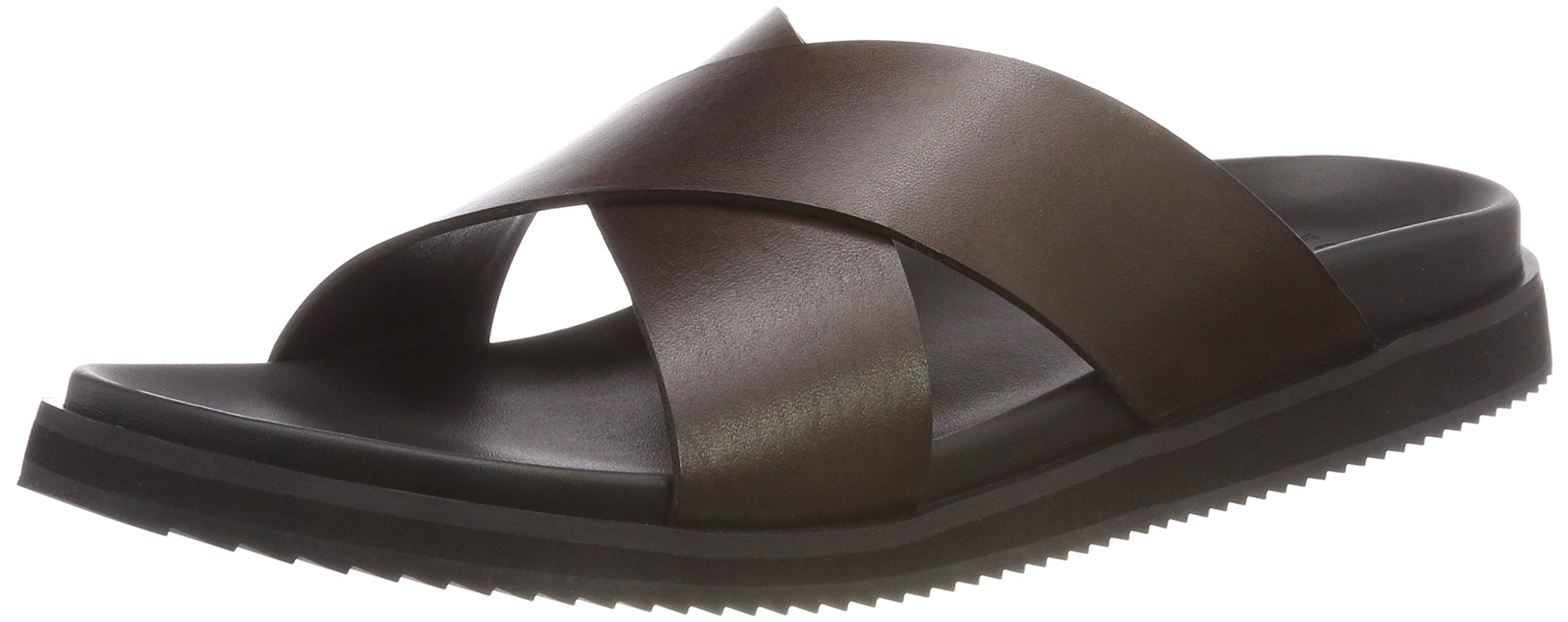 Bertie Eu IdiomTongs leather43 HommeMarron Brown 6gImyfYb7v