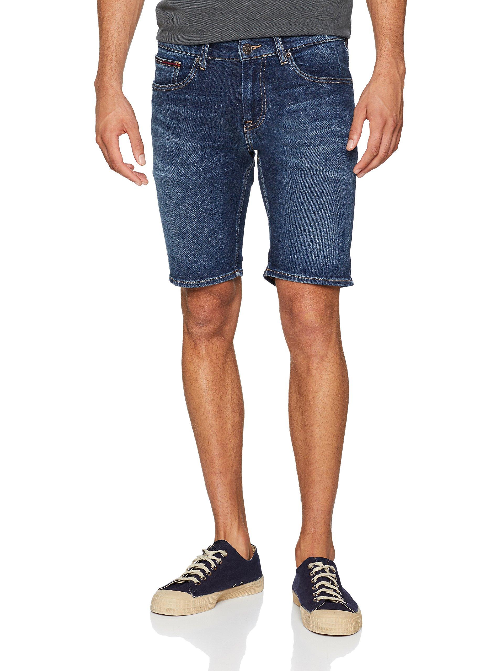 Bleupaseo Tommy Homme Short Com Jeans Dark Blue 911W31 Scanton stdhQCr