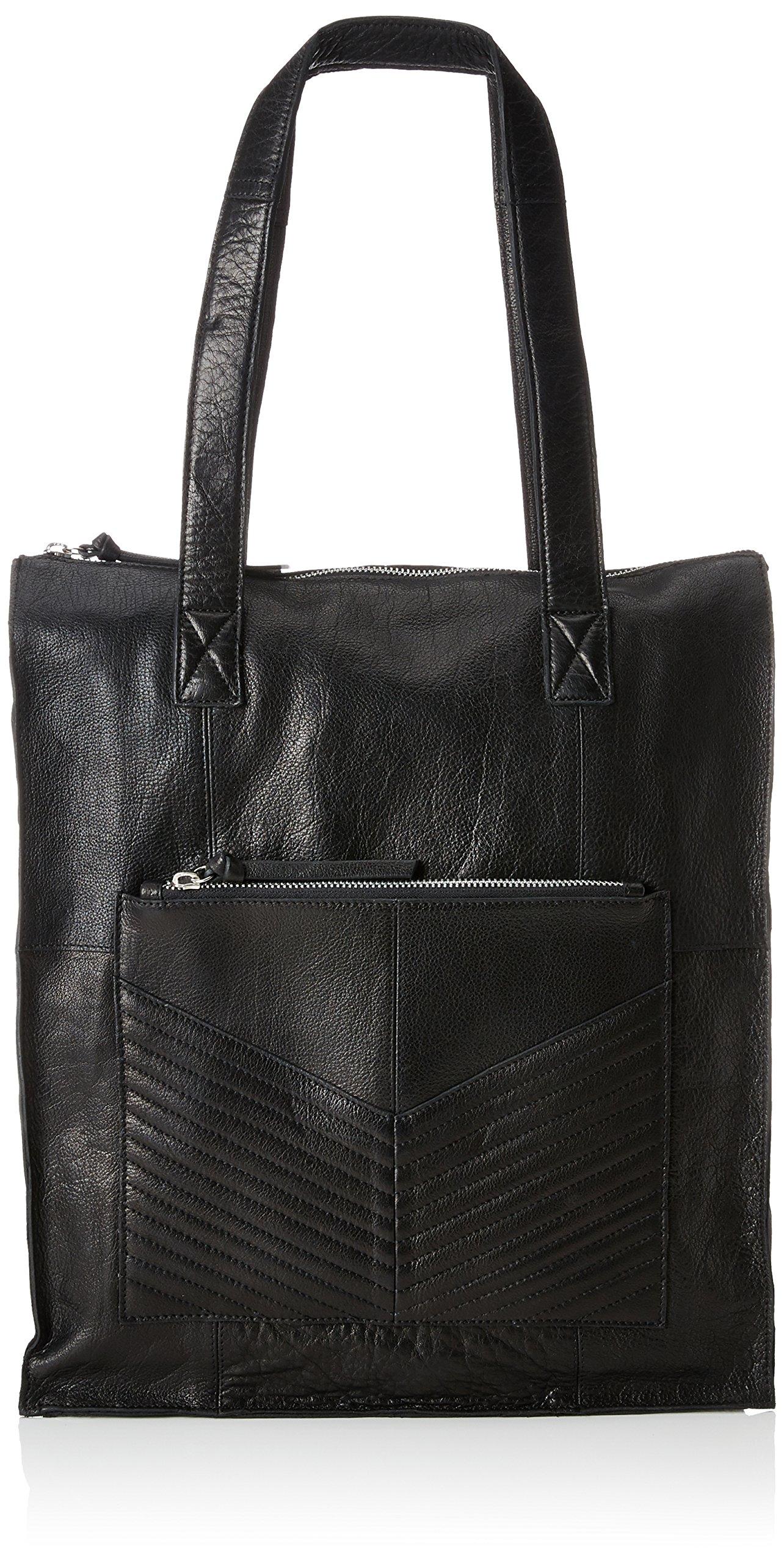ShopperSacs Cmb X Pieces H Pcdiana Épaule Portés Leather FemmeNoirblack12x40x30 T j45RL3cAq