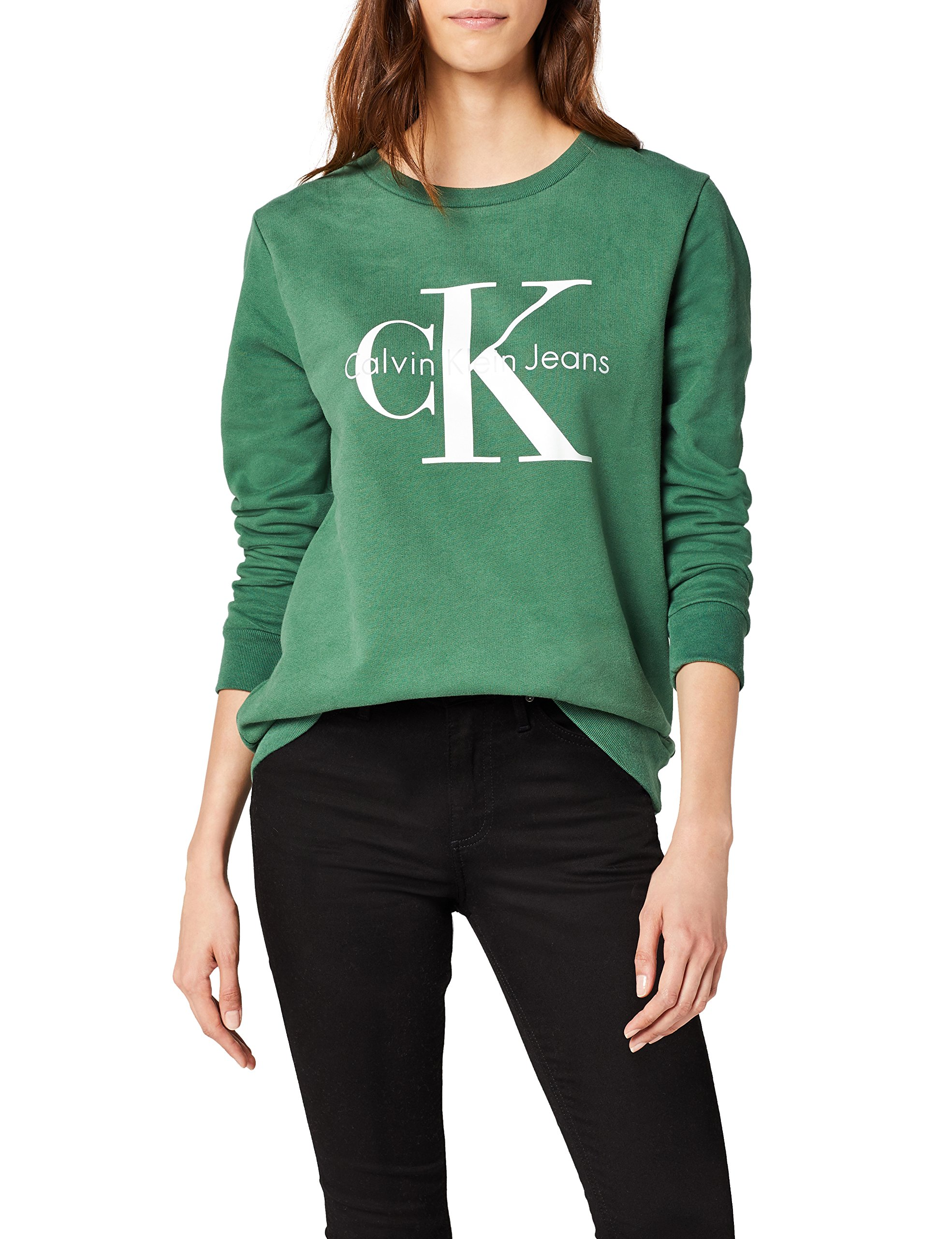 Green small Klein Sweat Neck Femme True Jeans Calvin Icon shirtVerttrekking Crew Hwk 347X N0nPk8wOX