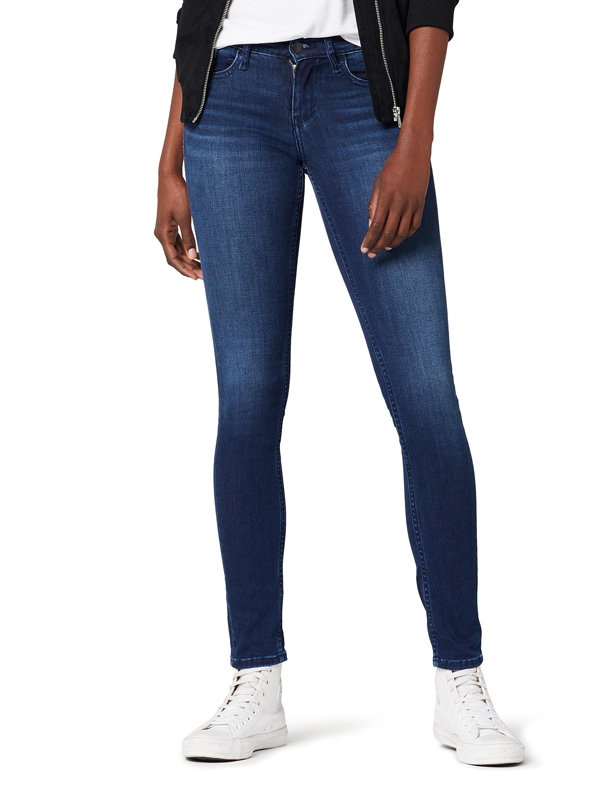 Klein l32 FemmeBleusatin Dark RiseSkinny Jeans Mid Stretch FabricantW26 l32taille Calvin 814W26 wn0OkX8P