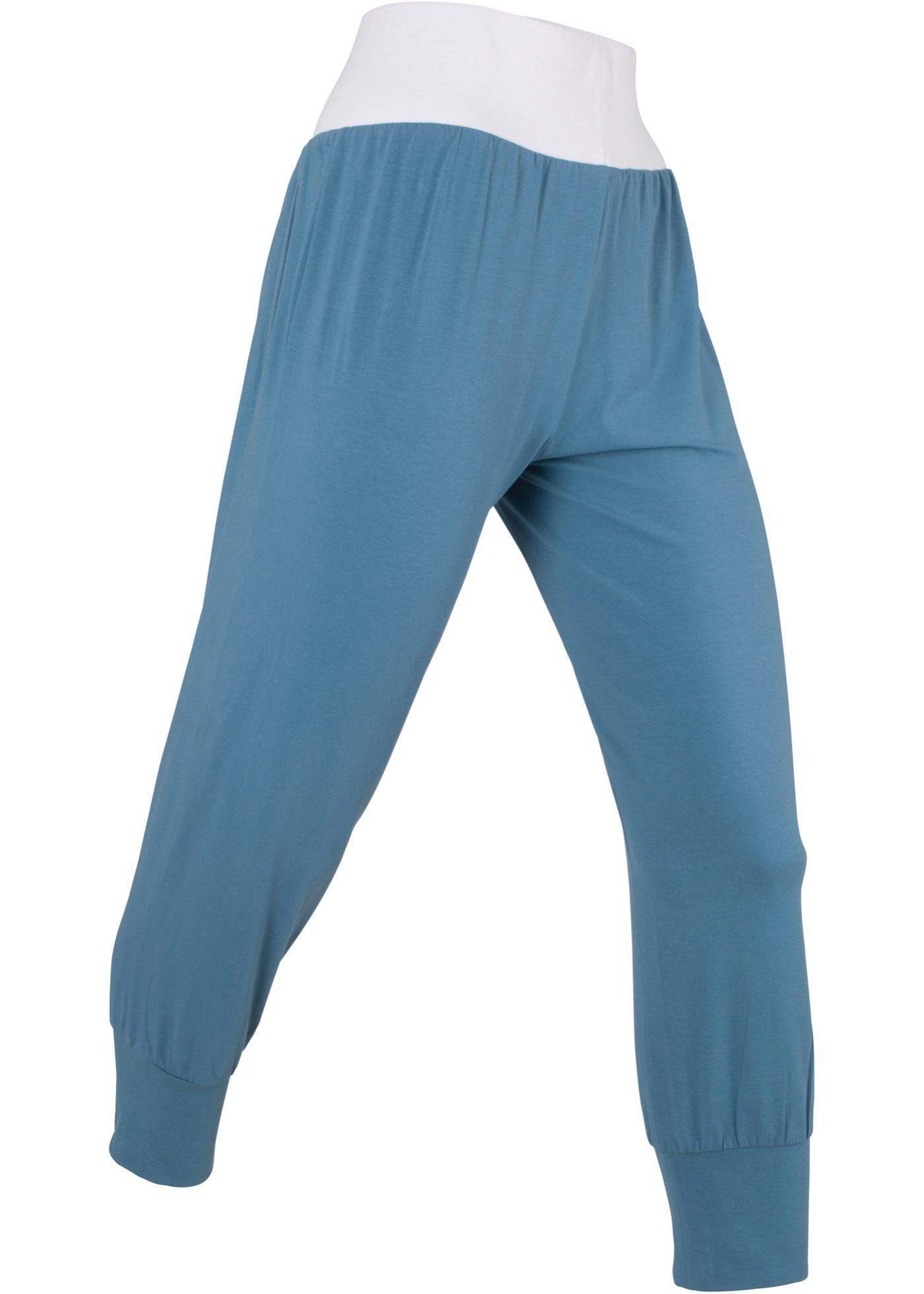 1 Longueur Femme Bpc 3 4Niveau Bonprix CollectionSarouel Bleu Pour j5Lq34AR