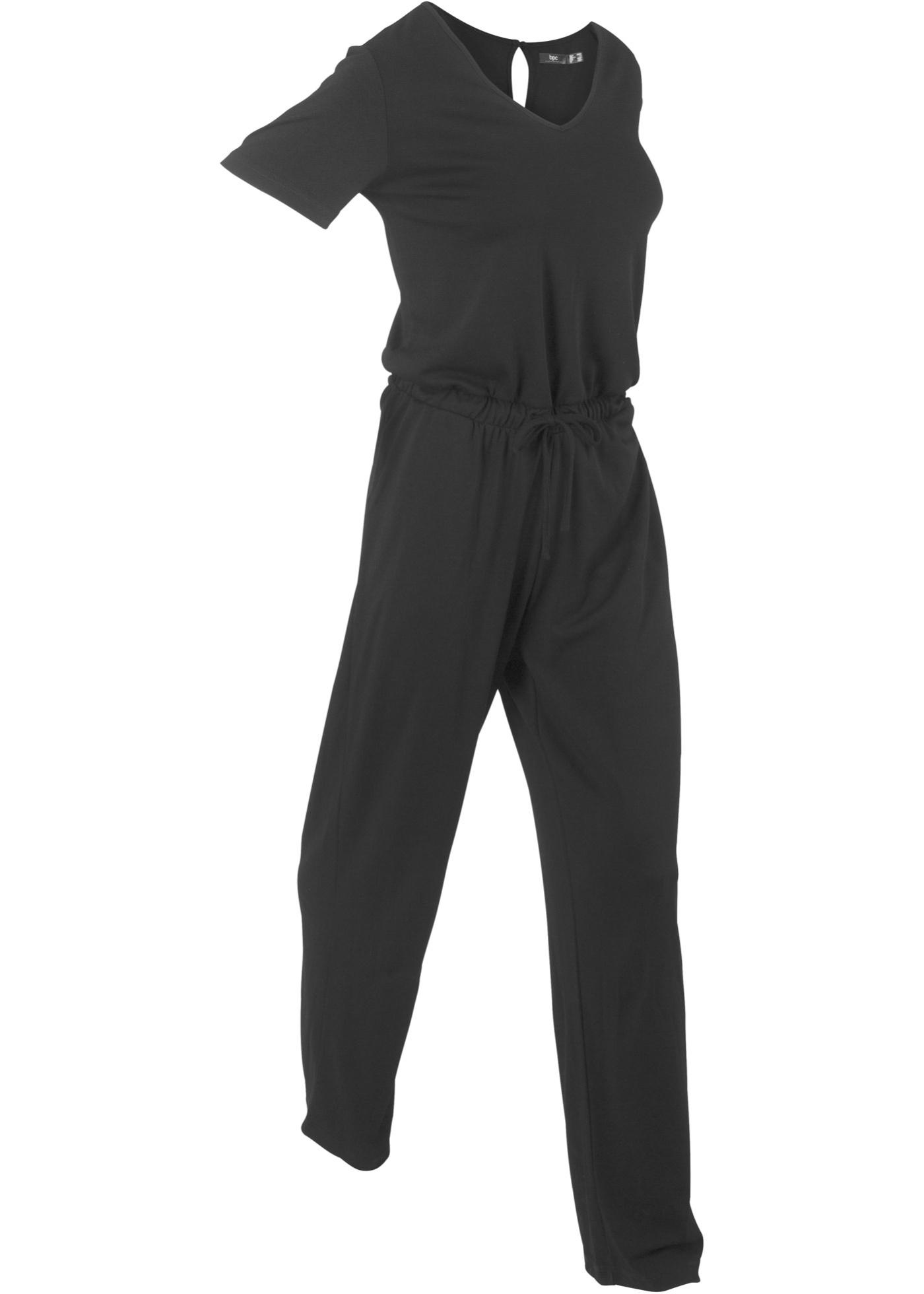 CollectionCombi Courtes Bonprix Manches Bpc Noir Pour Femme Pantalon mN0wy8nOvP