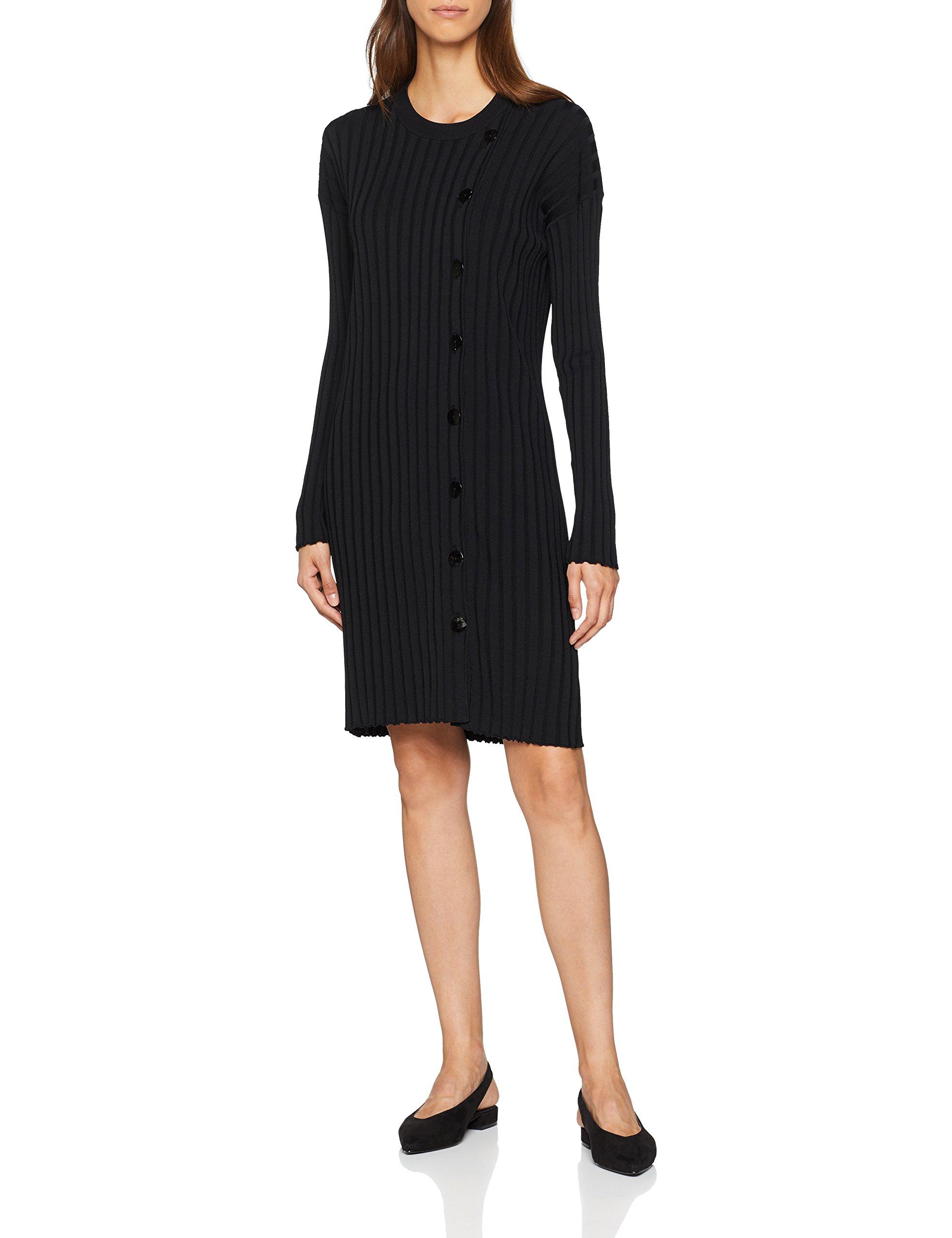 DressRobe Filippa FemmeNoirblack40taille Fabricant K m Longues Tunic Manches Tricoté Button 5L3Sq4ARjc
