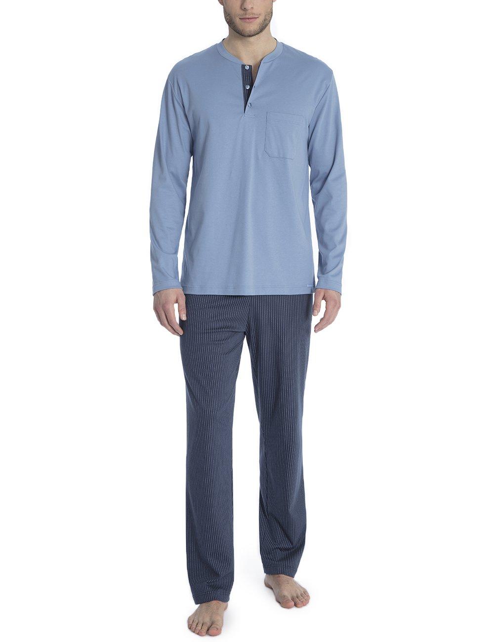 Calida Ensemble Garry PyjamaBleuinfinity Homme De Blue 453Xl hxQBsCtrdo
