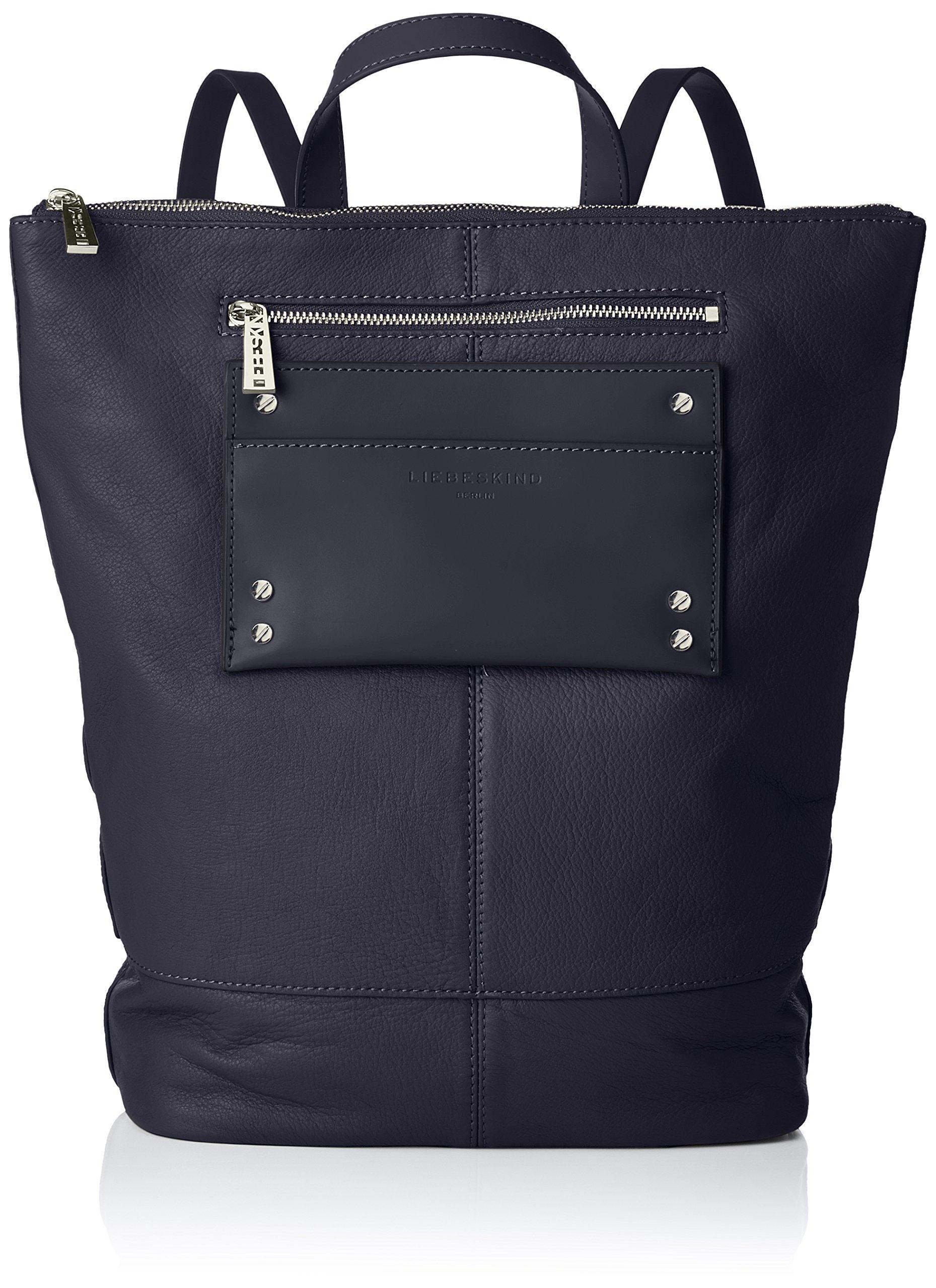 Liebeskind Cmb H 583811x48x36 FemmeBleunavy Backpackm LeisurSac Main En X Bretelles Dos Pour Berlin T Port Blue À KJTl13Fc