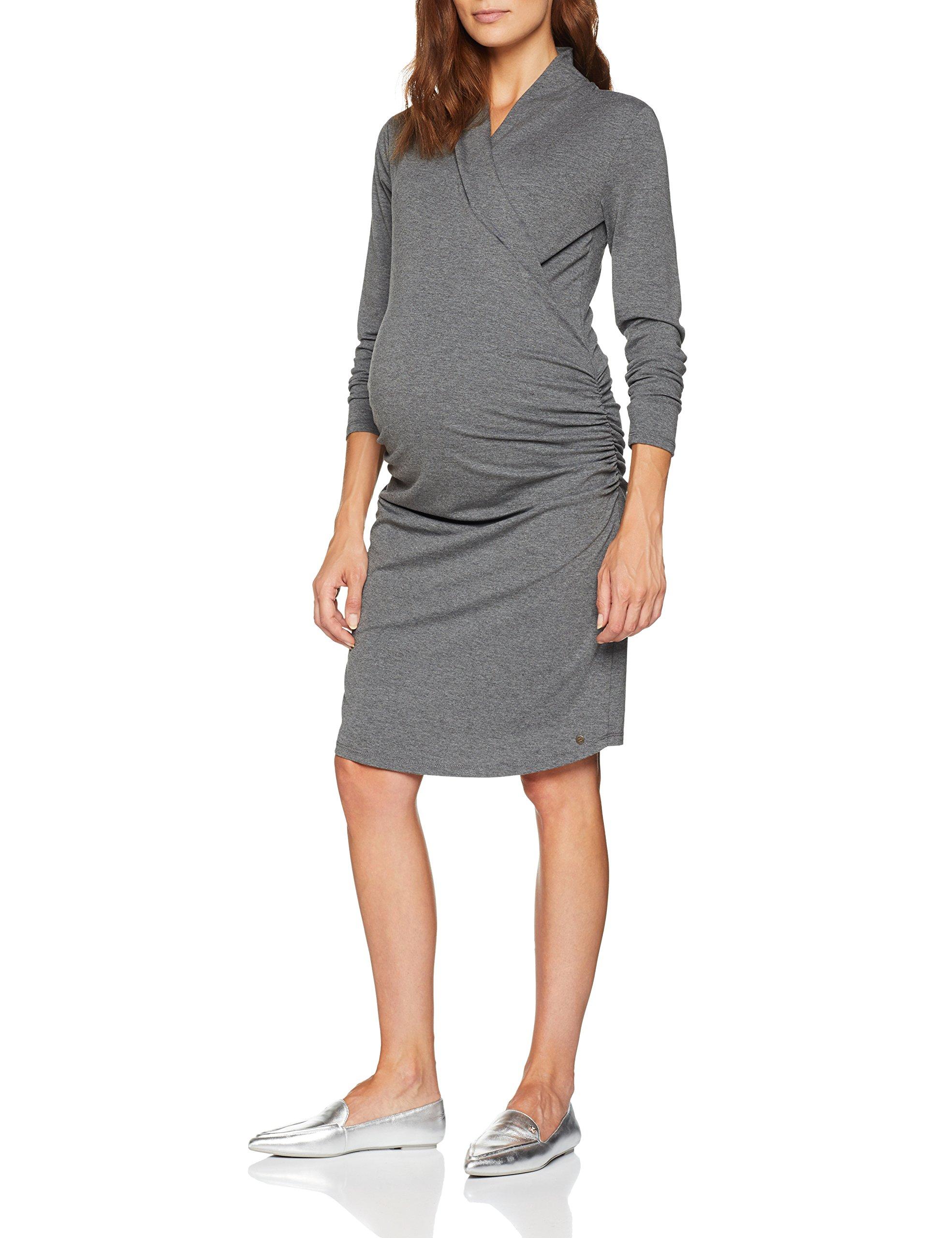 Esprit 00842taille Dress Ls RobeGraudark Grey FabricantLFemme Nursing Maternity Melange 35LjARq4