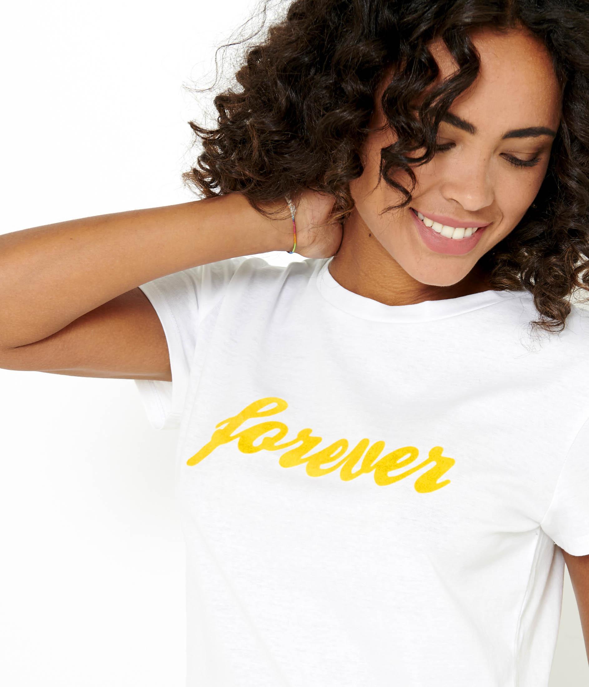 shirt T Camaïeu Femme shirt Forever T Camaïeu ZikTOPXu