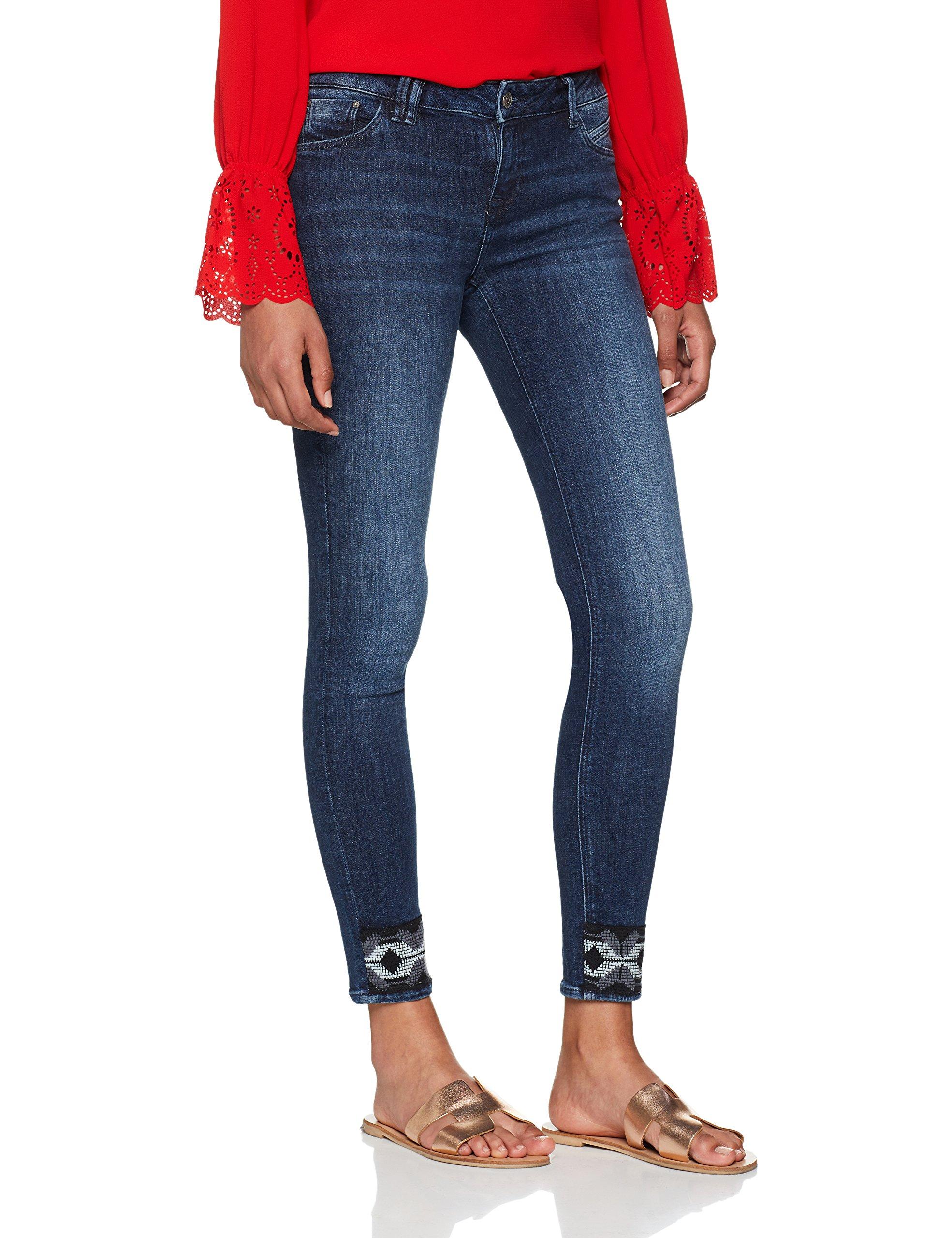Cross Skinny FemmeBlaudark GiselleJean Blue 009W29 Y6fgb7y