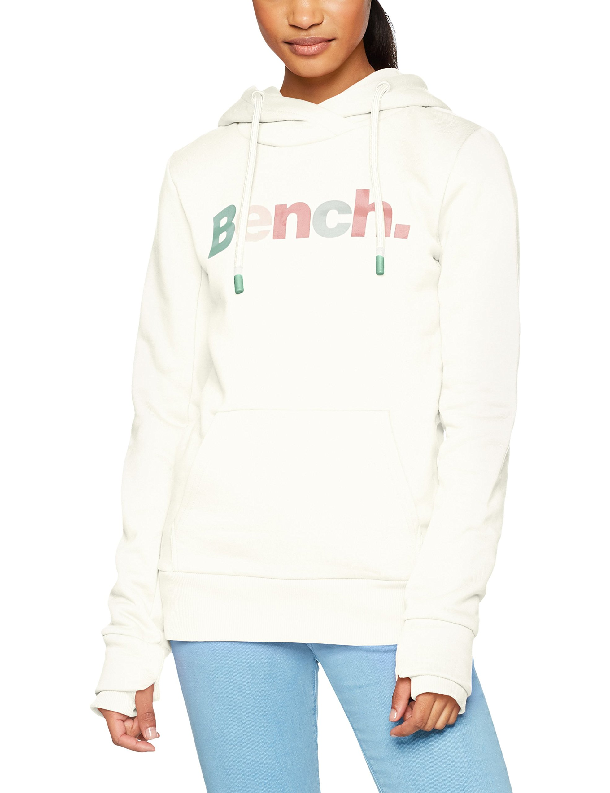Hoody Wh11210Medium shirt CapucheBlancsnow White À Bench Femme HerCorp Print Sweat KJc35TulF1
