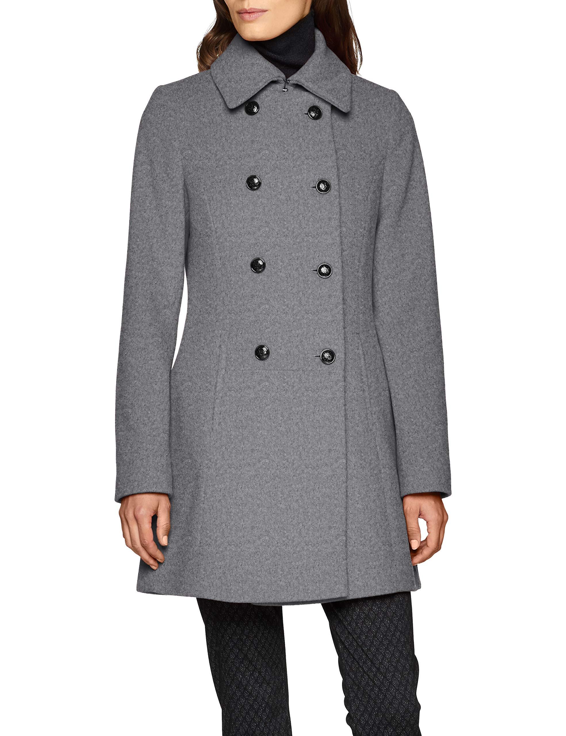 Hechter Daniel Coat ManteauGrisgrey Femme Wool Melange 93042 mn0wNOv8