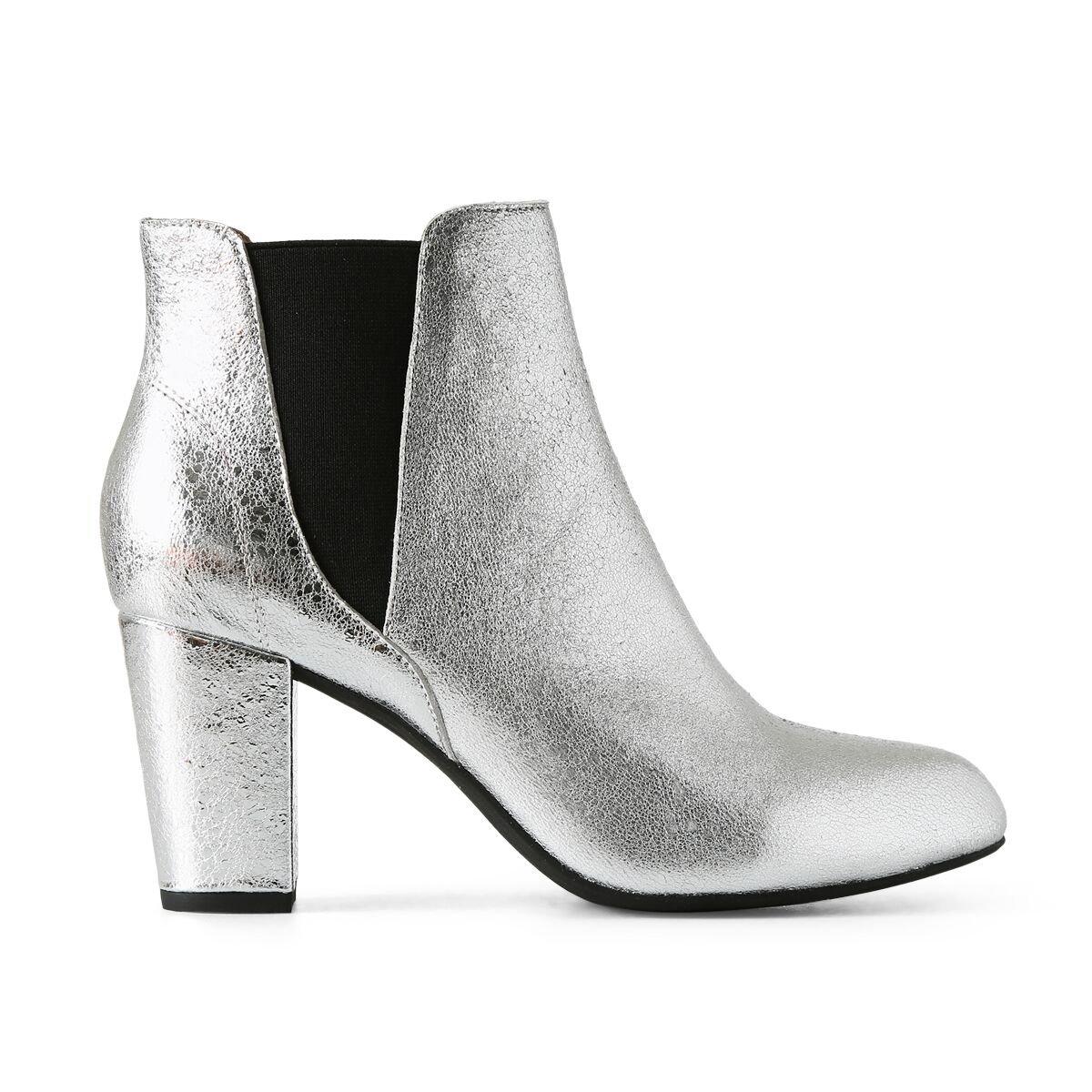 The Shoe LBottines Eu Hannah Bear FemmeArgentésilver 21038 GqSpUzMV