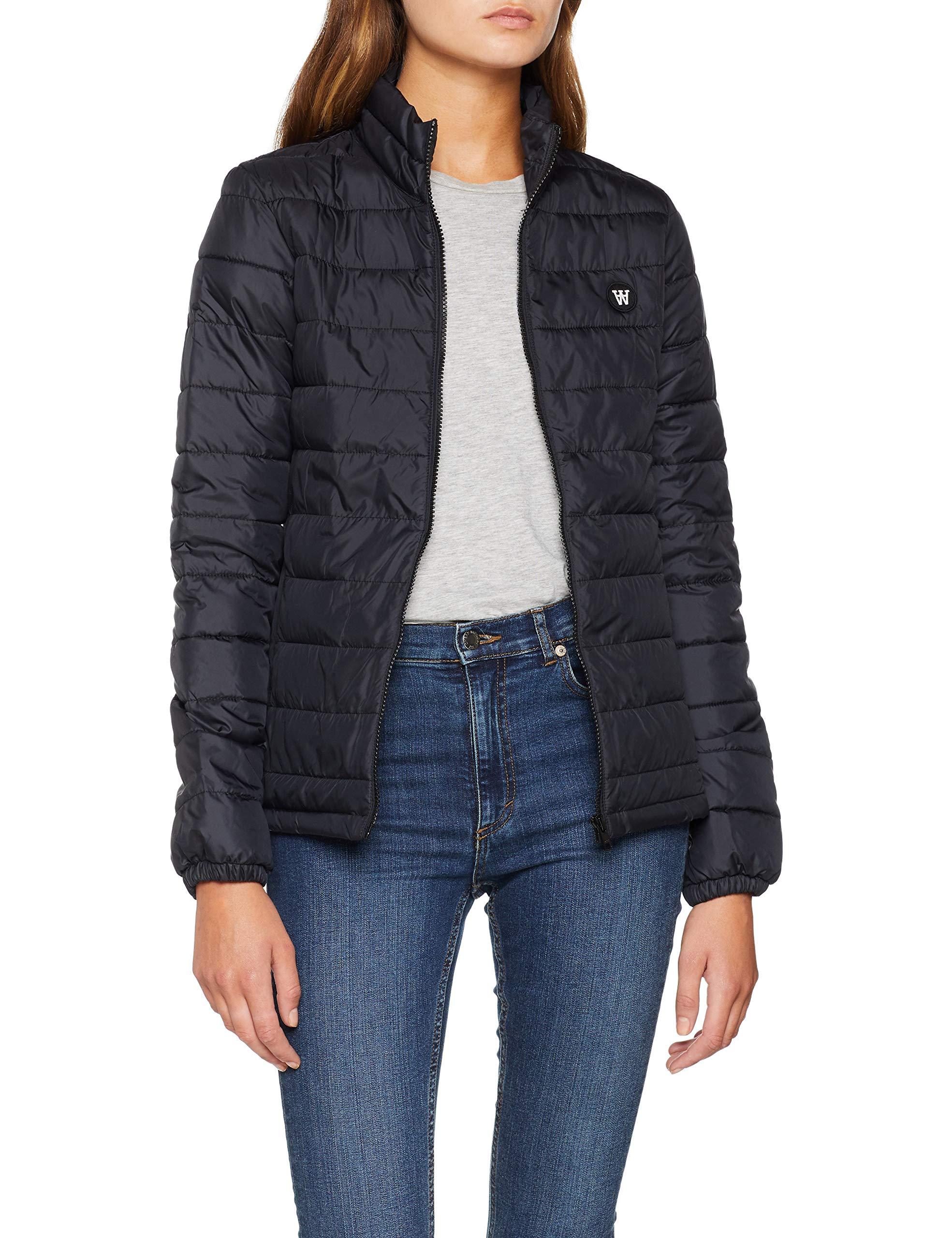 Alba Jacket Black42 Wood BlousonSchwarz Femme dCxeBroW