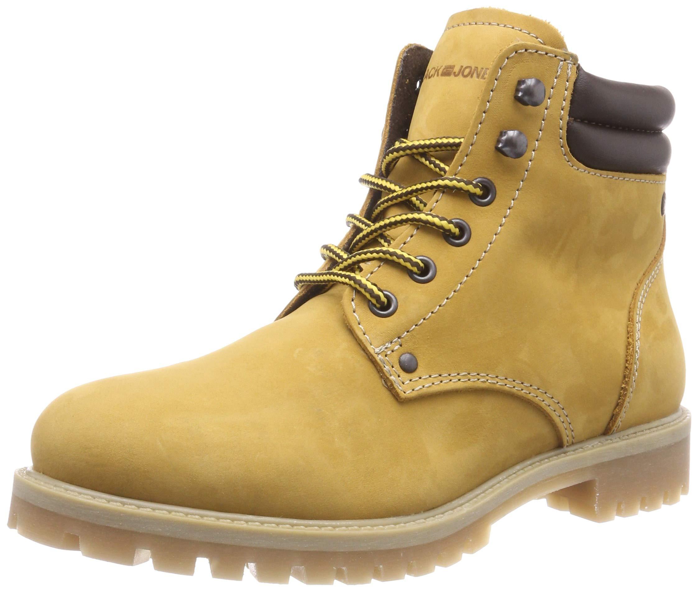 Classiques Eu Jfwstoke Honey Jones NoosBottes Bottines Nubuck Jackamp; HommeJaune43 Boot N8nmvw0